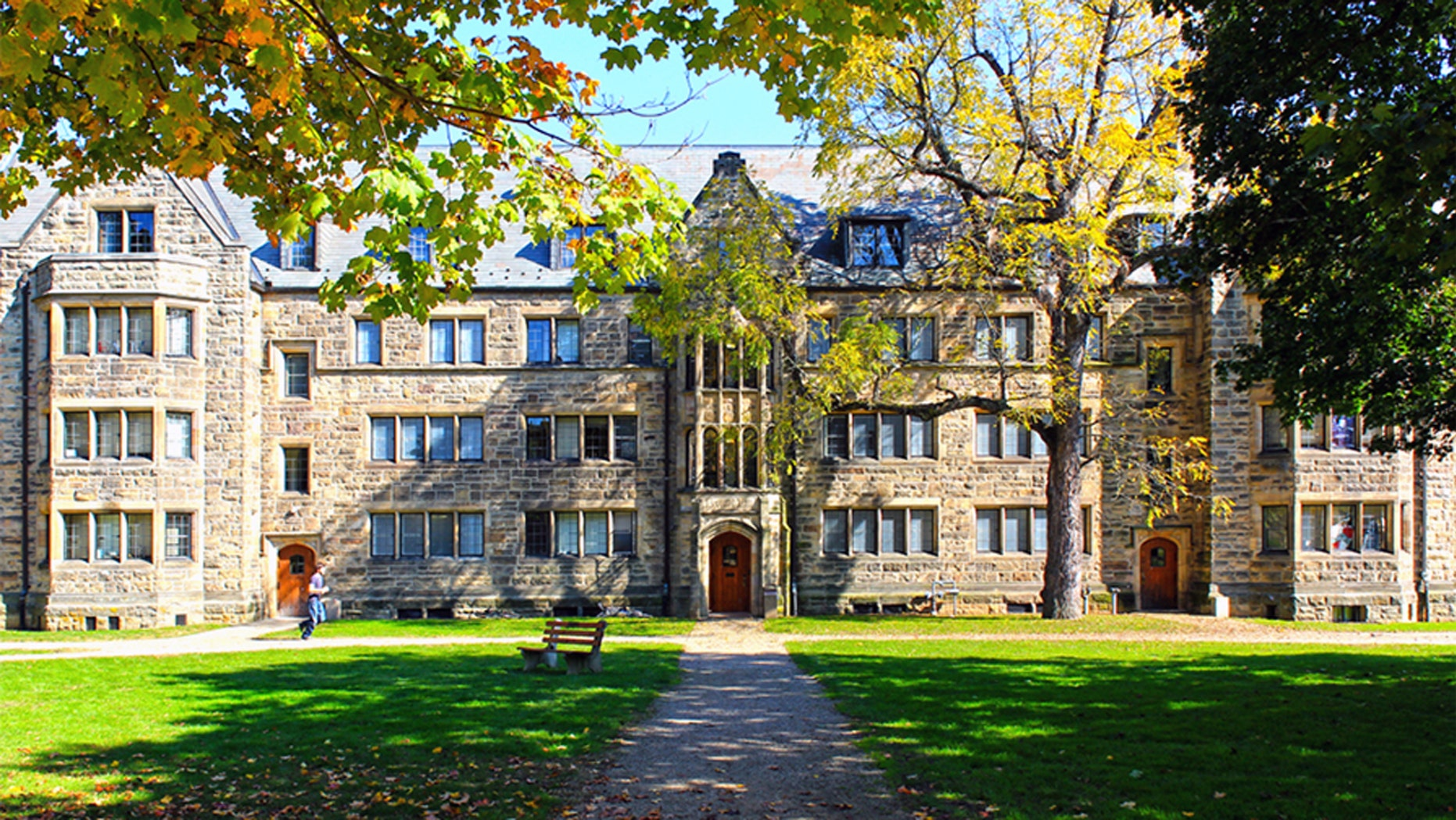 A view of Kenyon College in Gambier, Ohio.