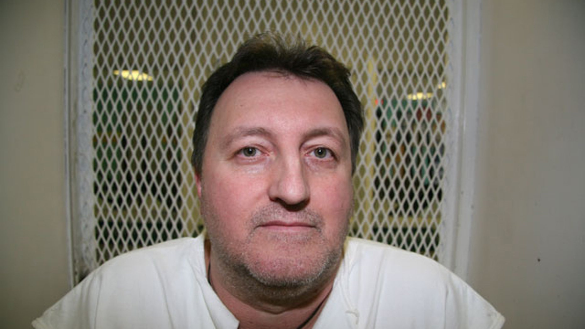 April 6, 2011: Condemned inmate Cary Kerr speaks from a visiting cage at Texas death row at the Polunsky Unit of the Texas Department of Criminal Justice in Livingston, Texas. (AP)