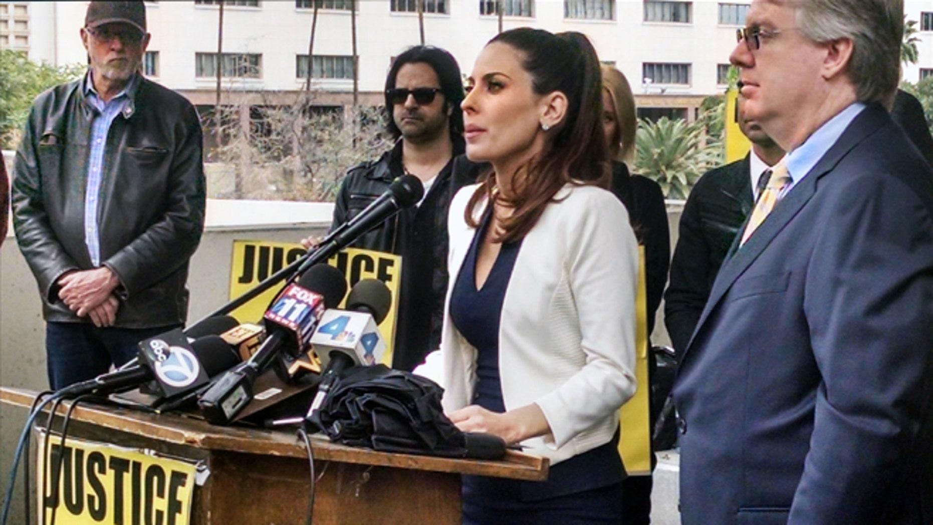 Jan 30, 2015. Kerri Kasem daughter of radio legend Casey Kasem talks during a news conference in Los Angeles.