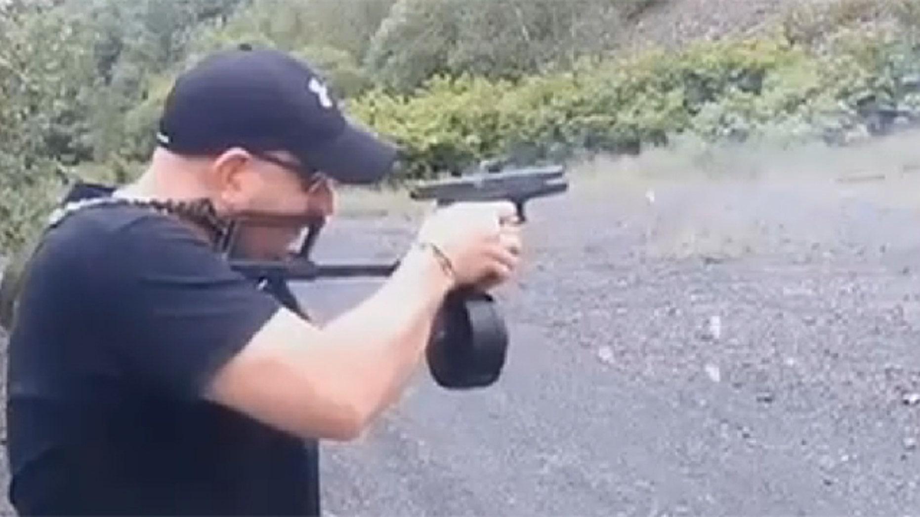 Gilberton police chief Mark Kessler's pro-gun videos have garnered hundreds of thousands of views online.