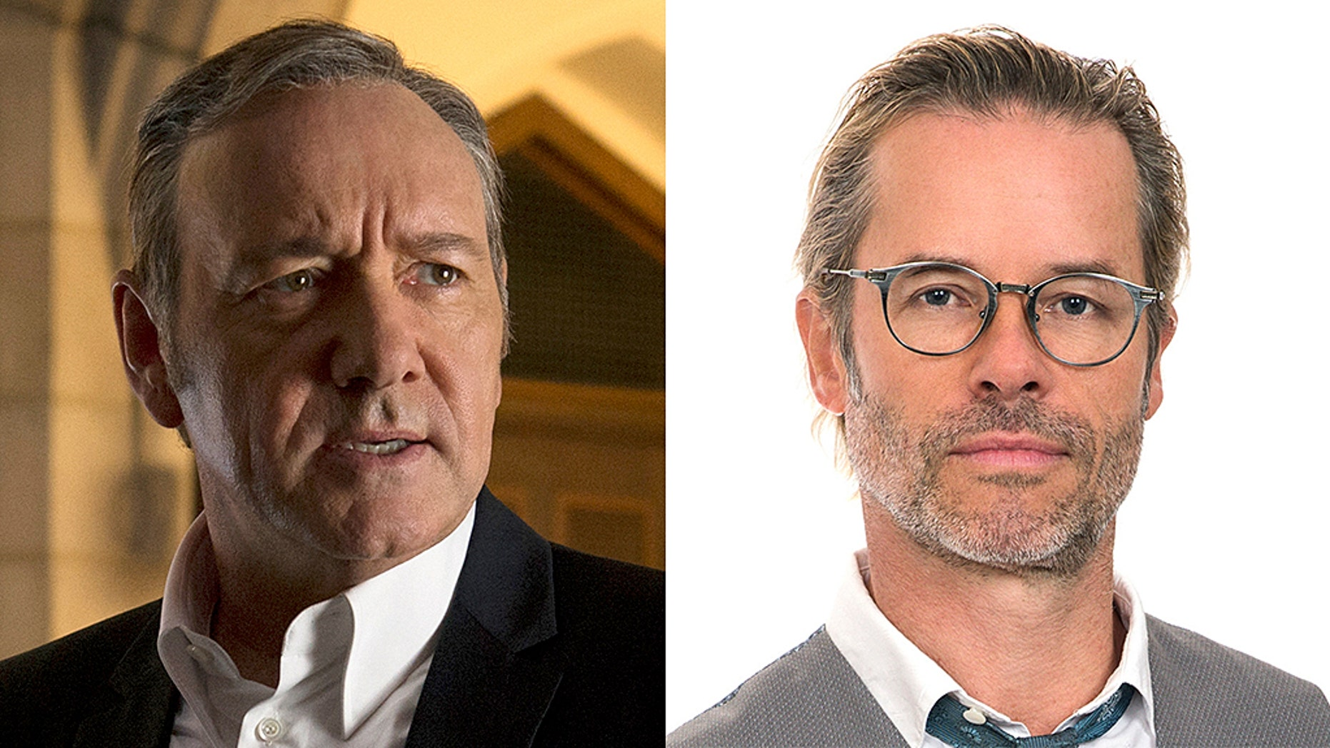 "Kevin Spacey [left] and Guy Pearce [right] starred in ""L.A. Confidential"" together."