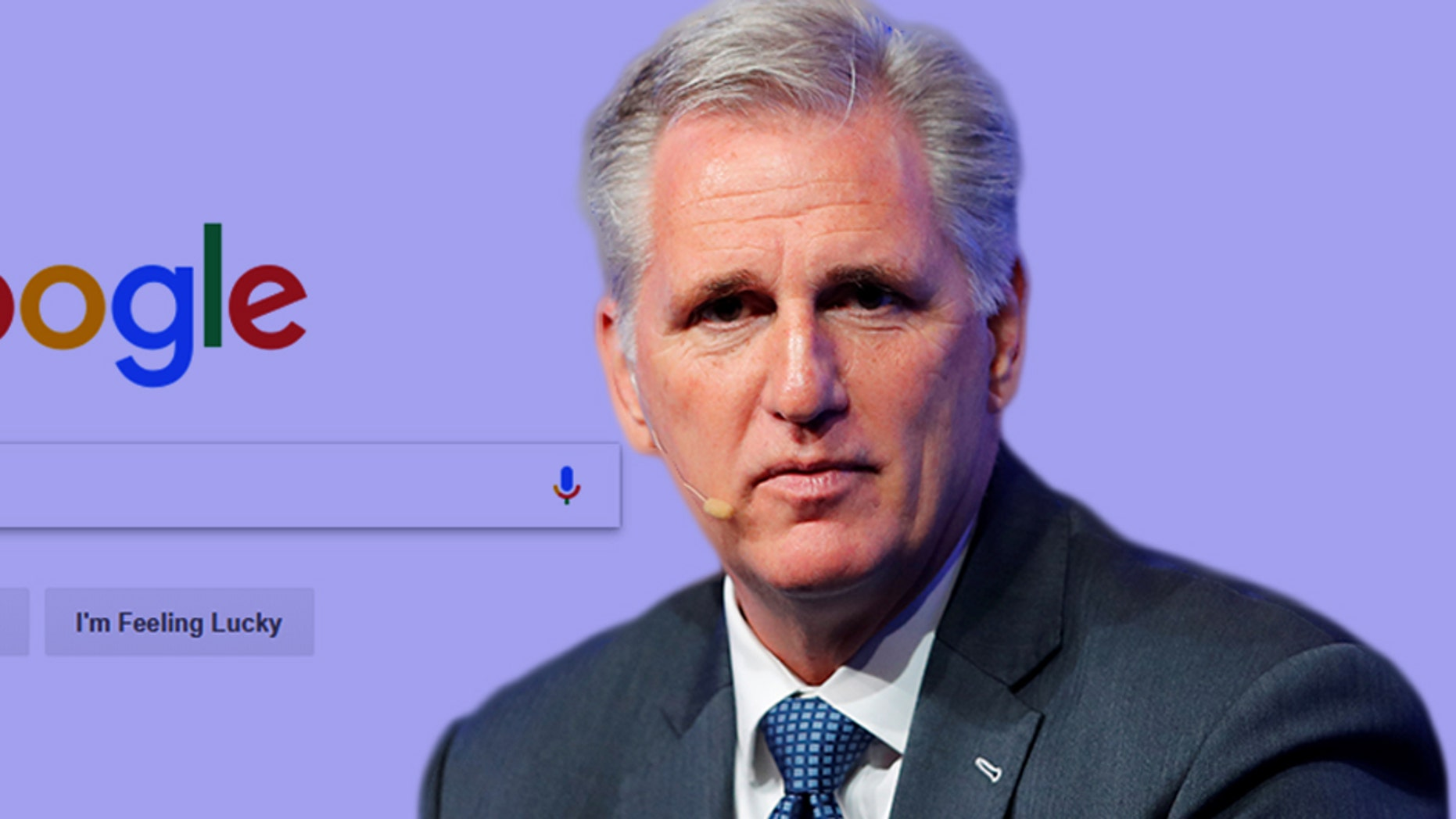 House Majority Leader Kevin McCarthy, R-Calif., has spoken out about what he views as political bias in the tech industry.