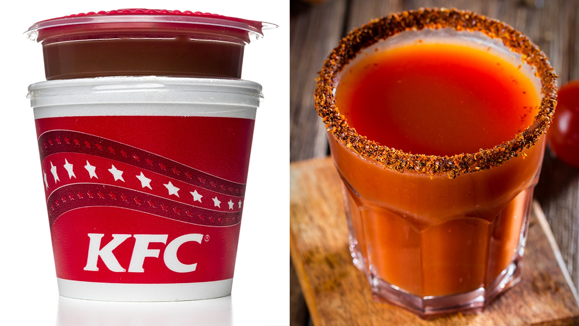 KFC is promoting gravy-infused cocktails for the adventurous drinker.