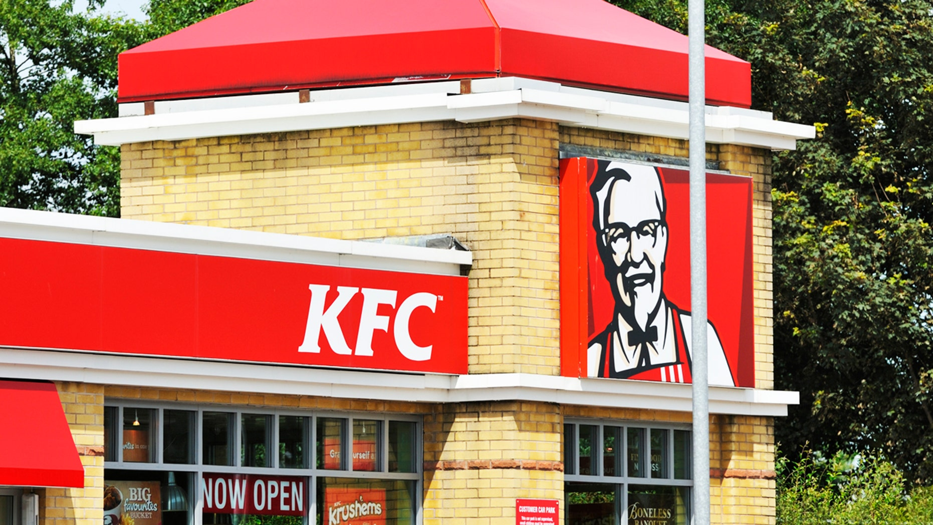 A U.K. KFC outlet has banned all customers under 18.