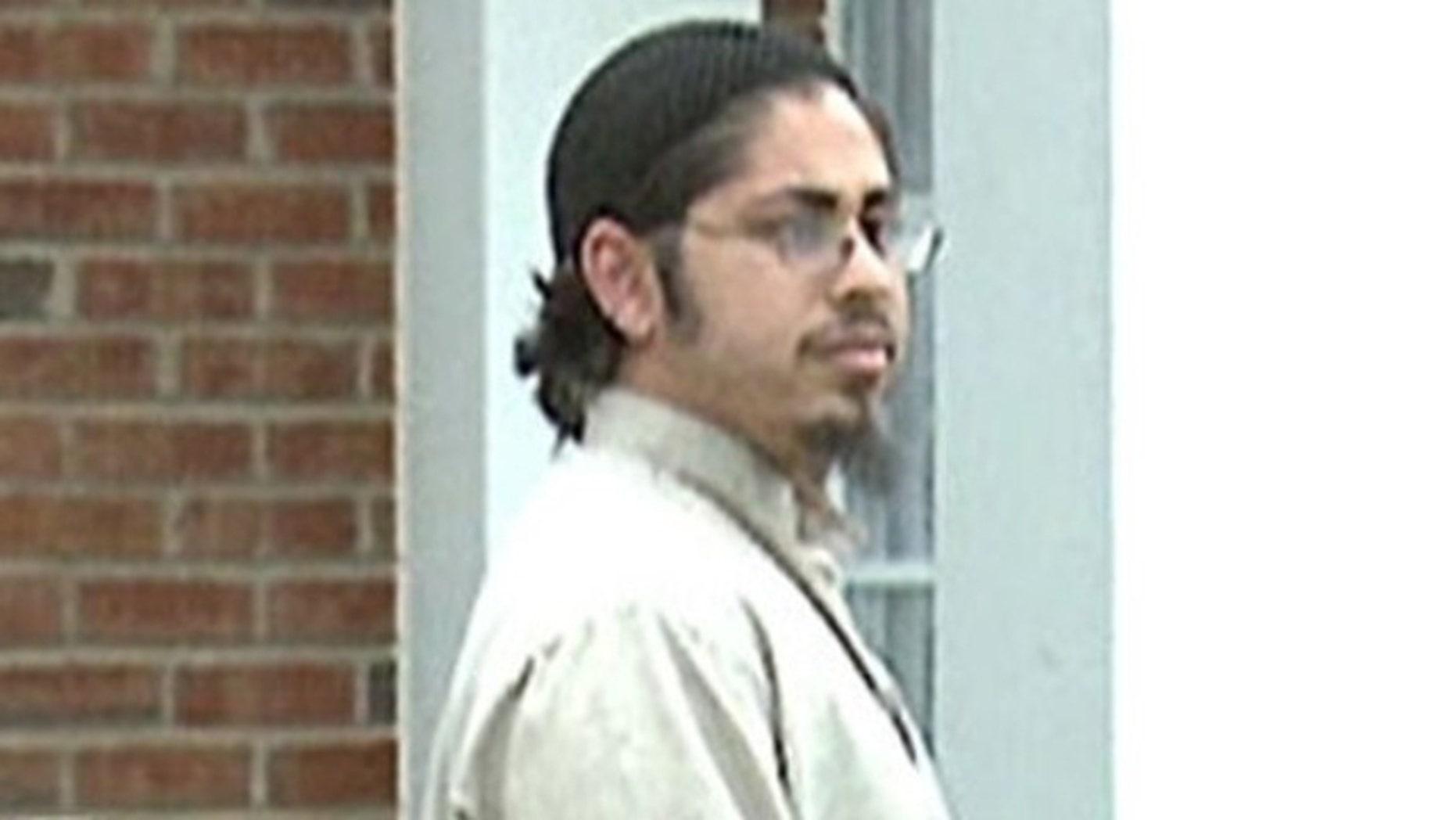 This 2008 image shows Samir Khan outside his parents' Charlotte, N.C., home.