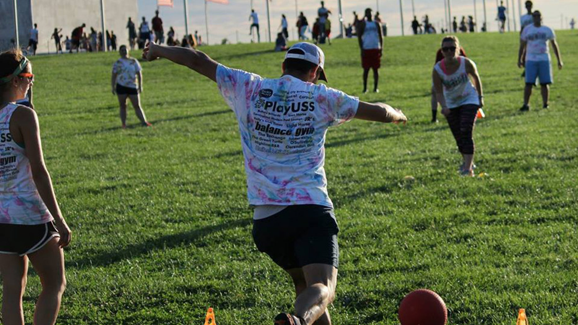 Games like these could soon be restricted in parts of the National Mall.