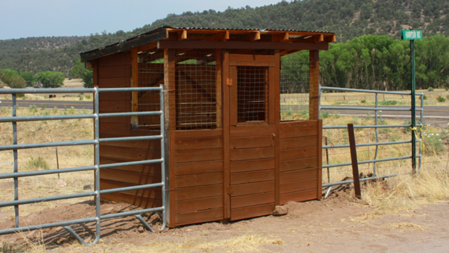 Catron County Sheriff Shawn Menges said the structures are not new, but their purpose is under renewed scrutiny as the U.S. Fish and Wildlife Service (FWS) proposes to extend Endangered Species Act protections for an estimated 75 Mexican gray wolves in New Mexico and Arizona. (Courtesy: David Spady)
