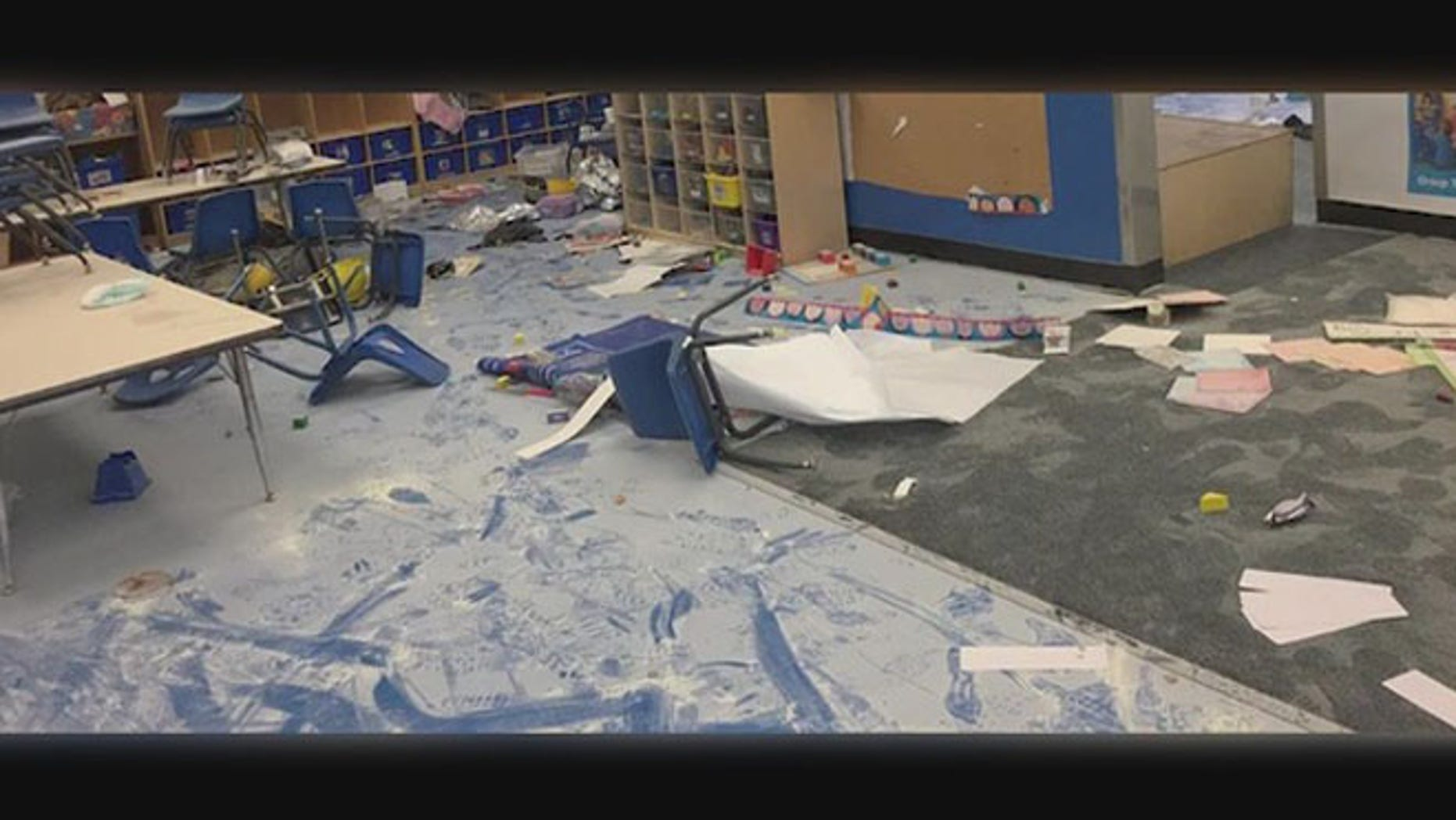 Five young kids broke into a San Pedro Child Development Center and vandalized the facility.