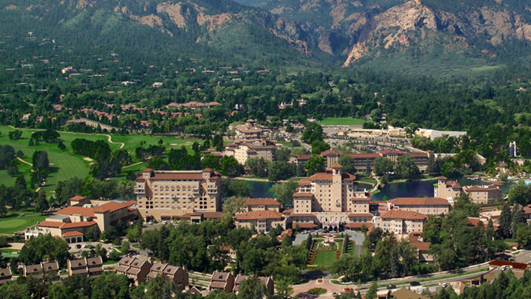 The historic Broadmoor Resort.