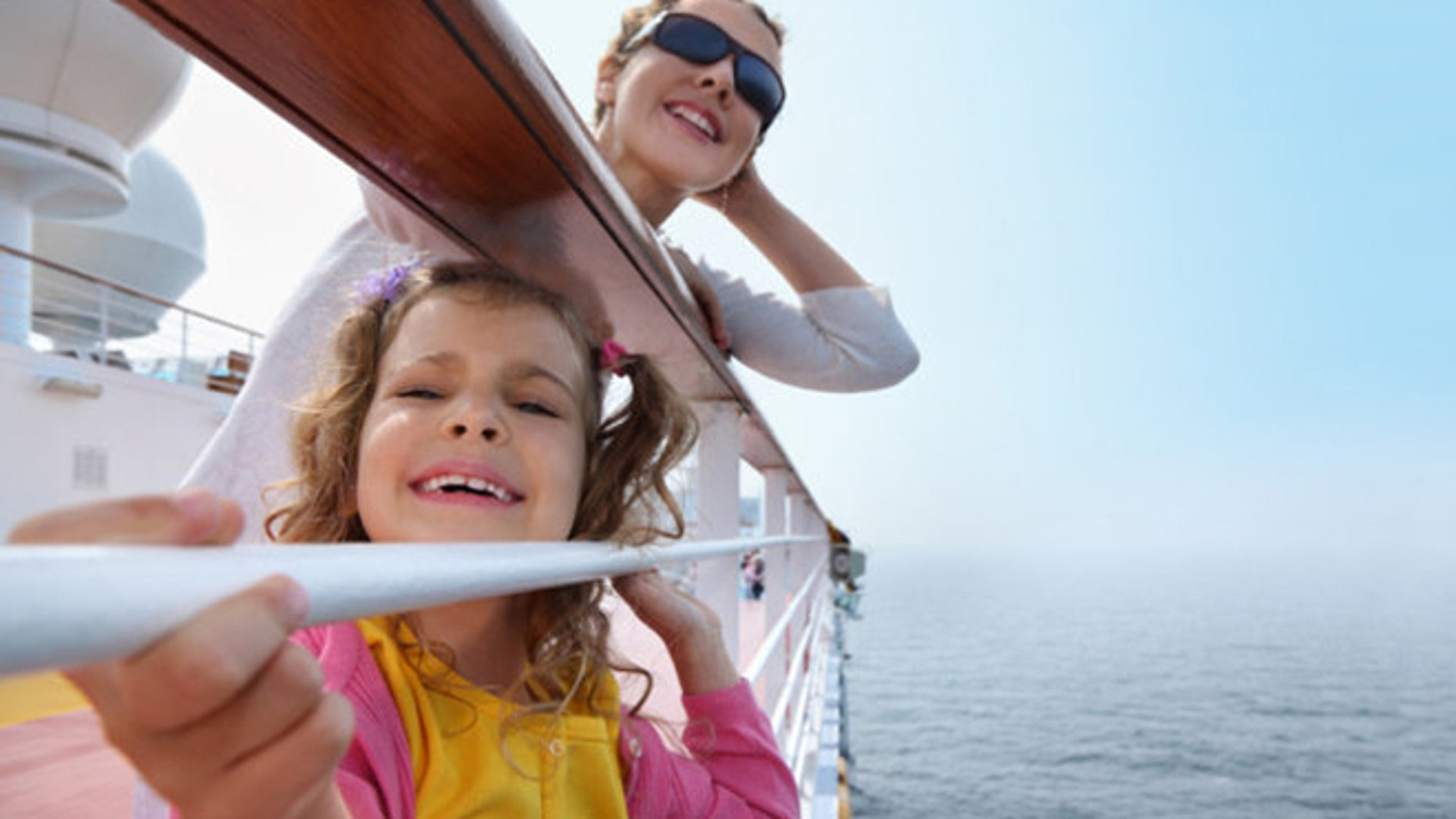 Cruising with small children means keeping a difference pace than with the rest of the ship.