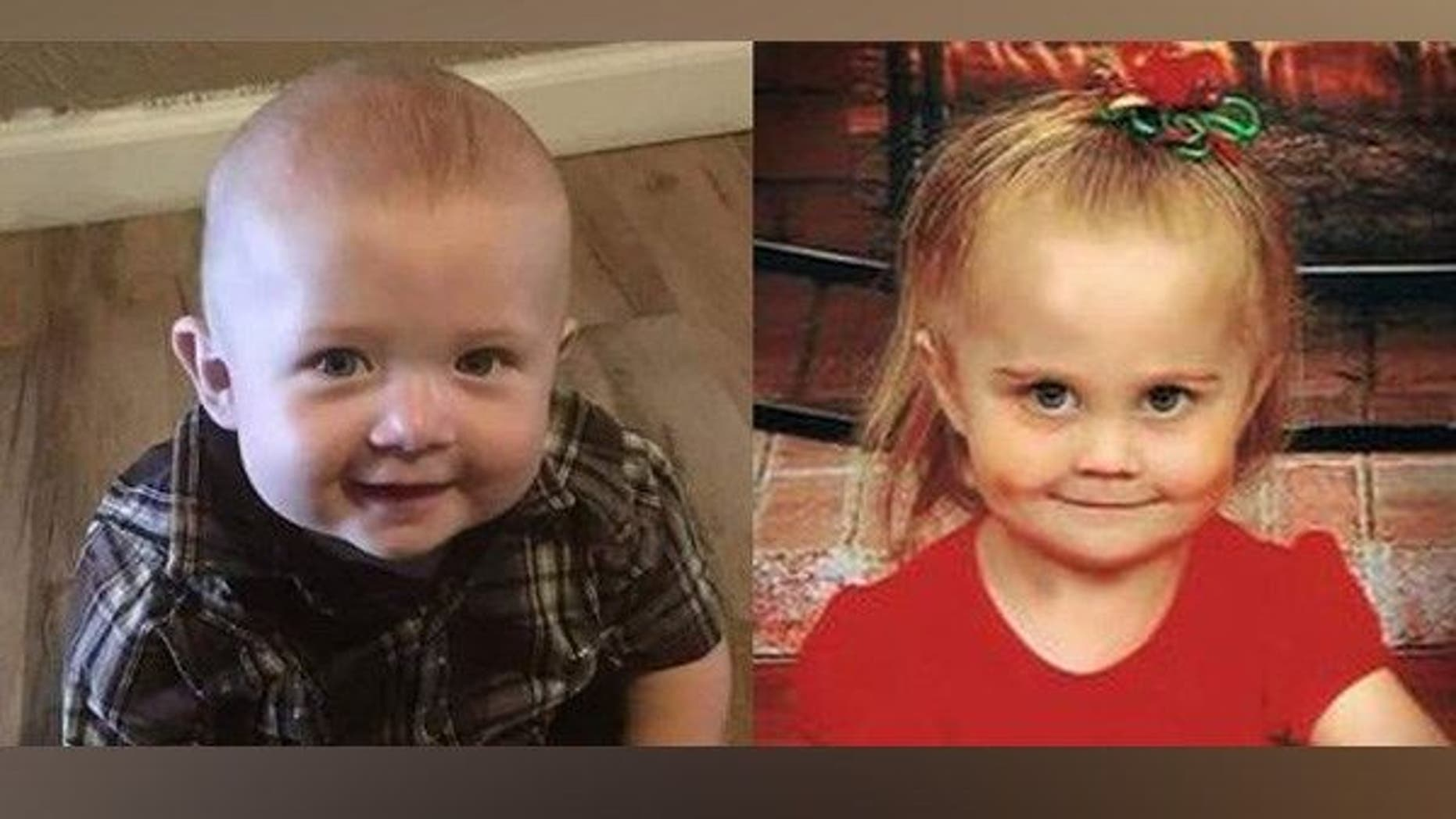 An older sibling was being held in connection with the deaths of Nathaniel Ritz, 11 months, and Desiree McCartney, 23 months, authorities say.