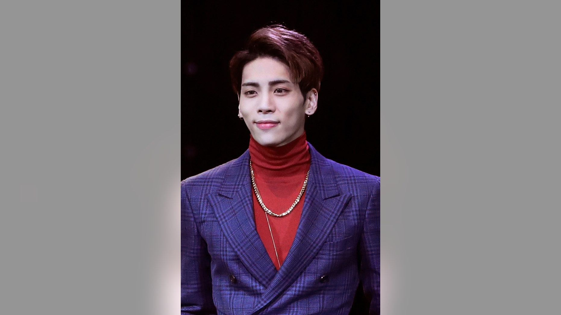 "FILE - In this Oct. 4, 2016, file photo, Kim Jong-hyun, a member of South Korean K-pop group SHINee, poses for the media before a showcase for the group's album ""1 of 1"" in Seoul, South Korea. Kim Jong-hyun, better known by the stage name Jonghyun, was found unconscious at a residence hotel in Seoul and was pronounced dead later at a nearby hospital, Seoul police said Monday Dec. 18, 2017.  (AP Photo/Lee Jin-man, File)"