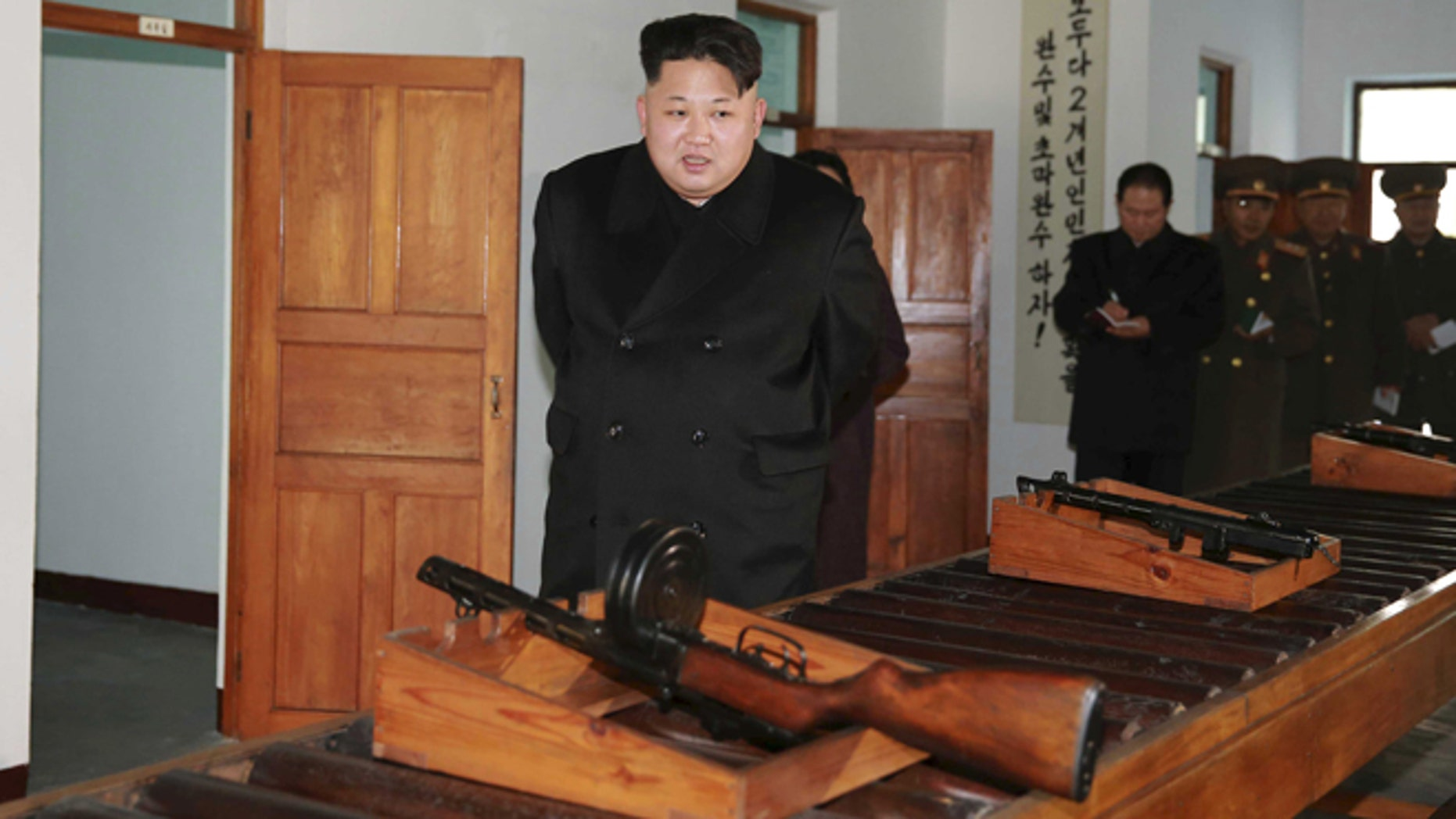 Dec. 10, 2015: North Korean leader Kim Jong Un visits the Phyongchon Revolutionary Site, in this undated photo released by North Korea's Korean Central News Agency (KCNA) in Pyongyang