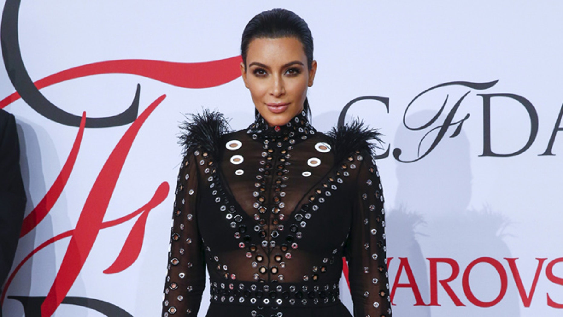 June 1, 2015. Television personality Kim Kardashian arrives to attend the 2015 CFDA Fashion Awards in New York.