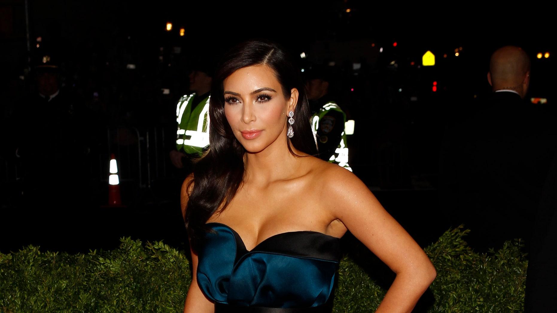 May 5, 2014. Kim Kardashian arrives at the Metropolitan Museum of Art Costume Institute Gala Benefit in New York.