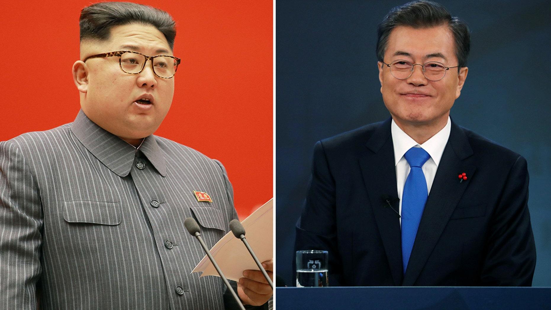 North Korean leader Kim Jong Un on Saturday invited South Korean President Moon Jae-in to the North.