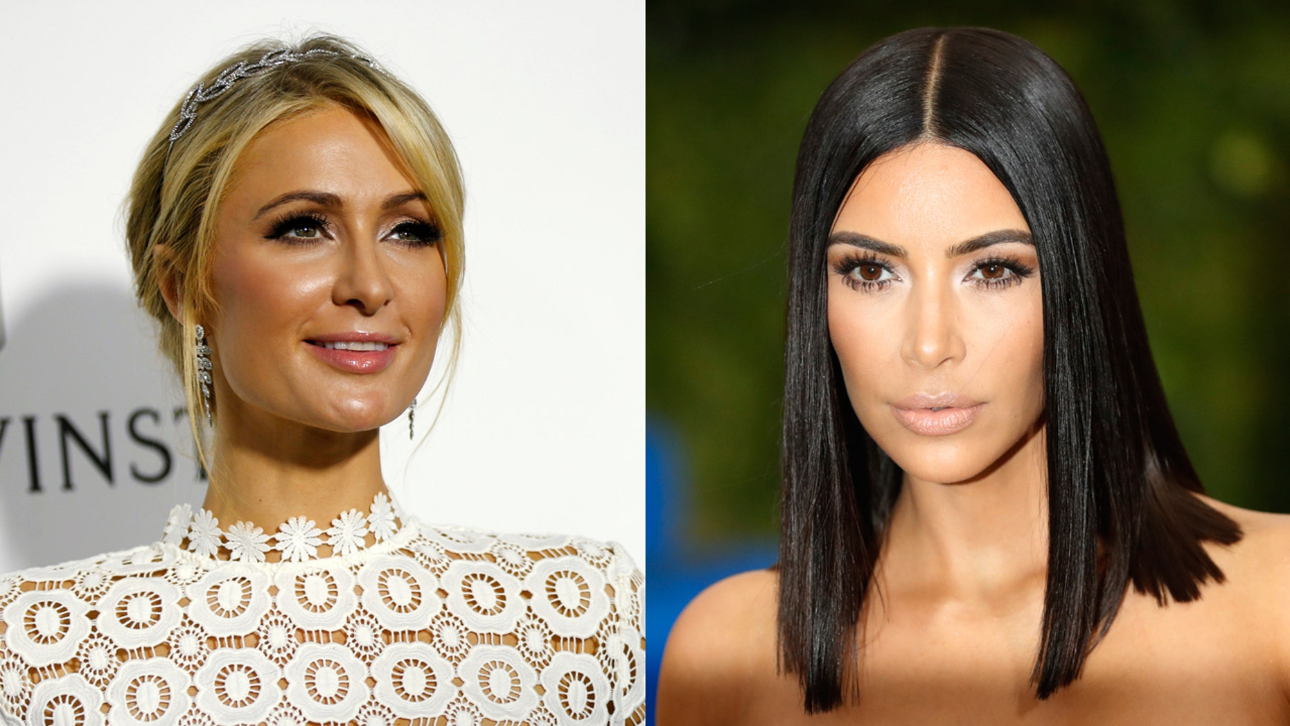 Kim Kardashian dresses up friend Paris Hilton as herself to advertise Yeezy Season 6 collection.