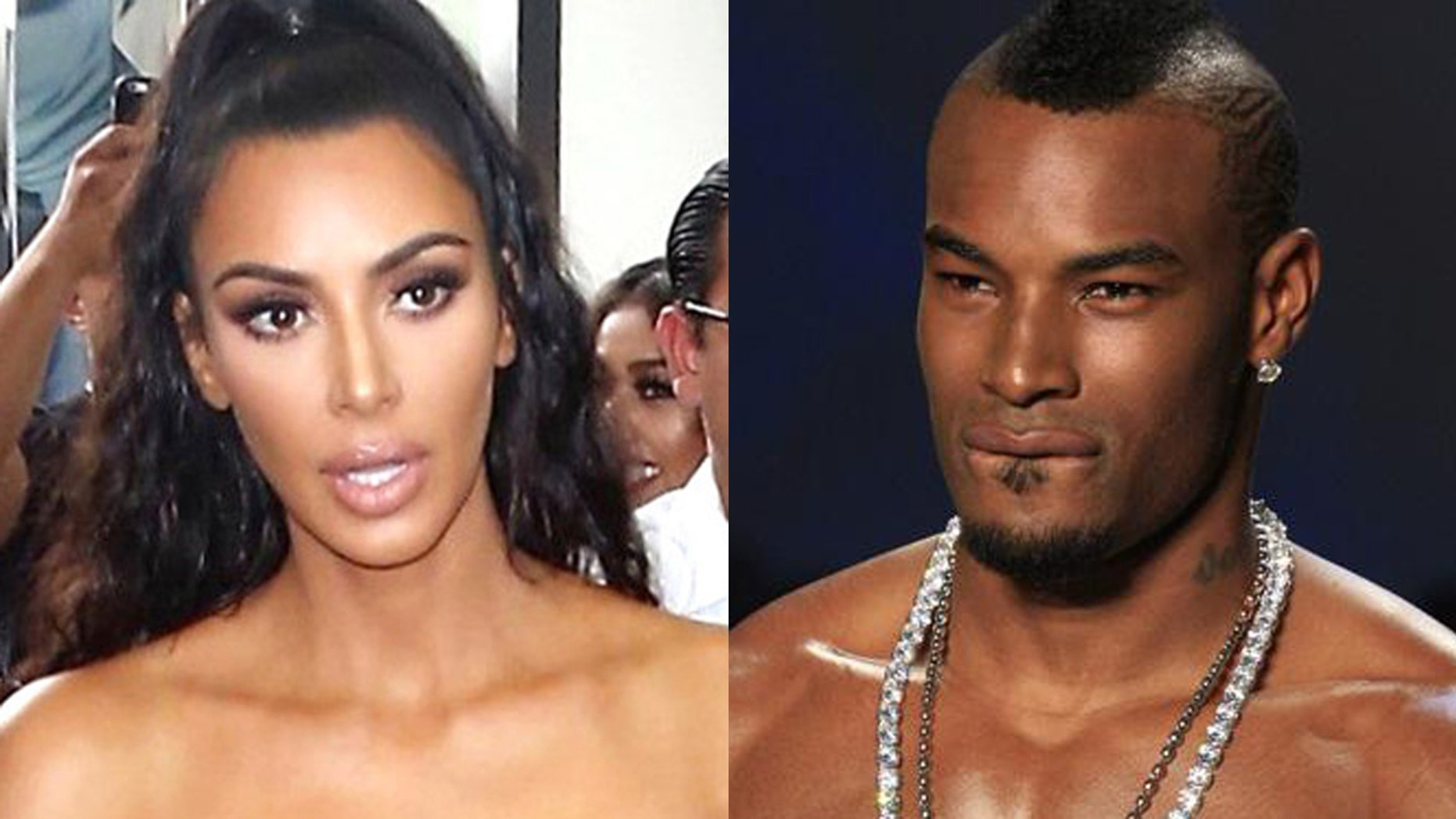 Kim Kardashian and model Tyson Beckford have began a war of words on social media after the model said that he 'didn't care' for the reality star's body.