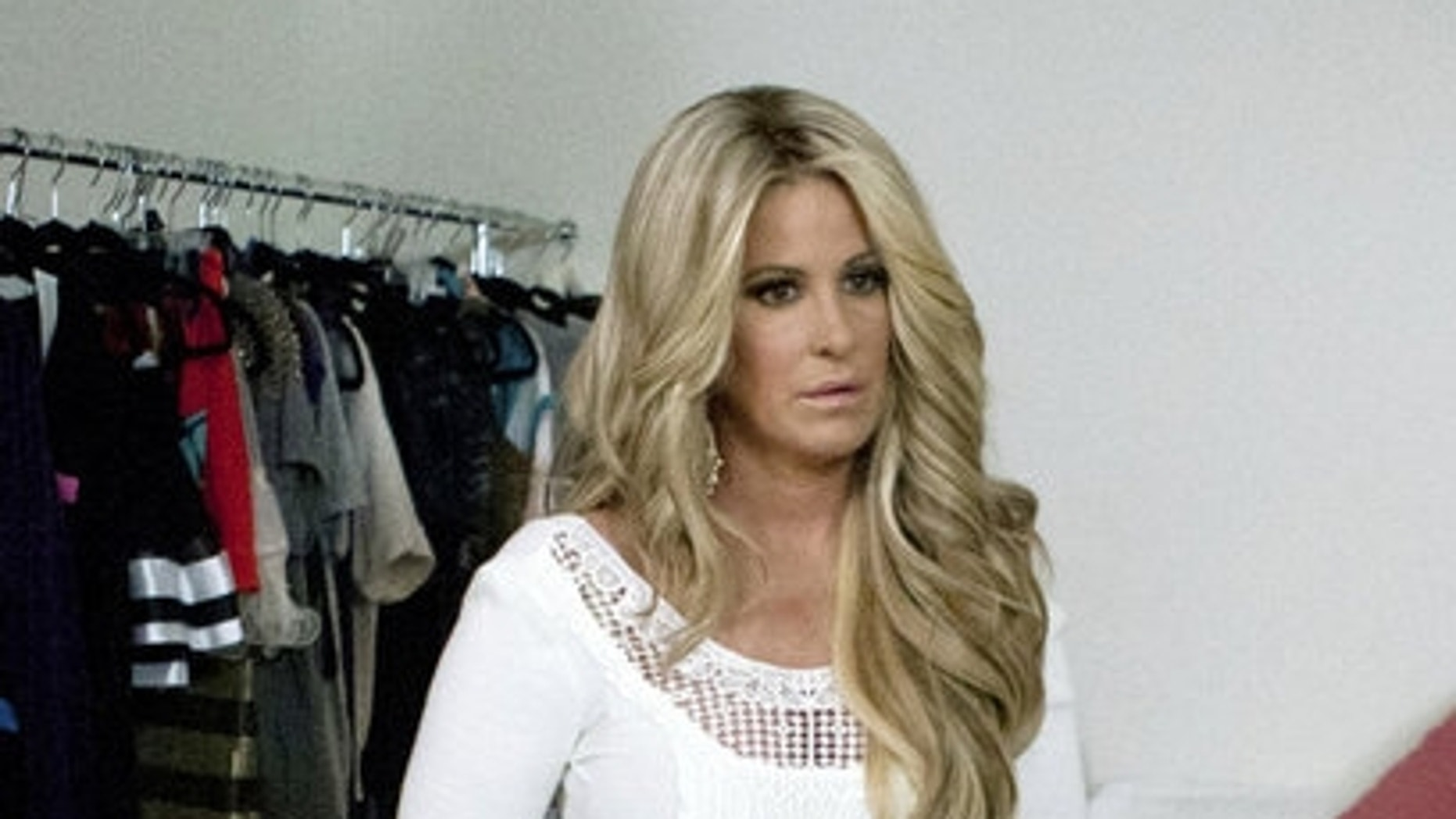 """Kim Zolciak is shown on Bravo's """"Don't Be Tardy."""" The reality star was photographed smoking while pregnant."""