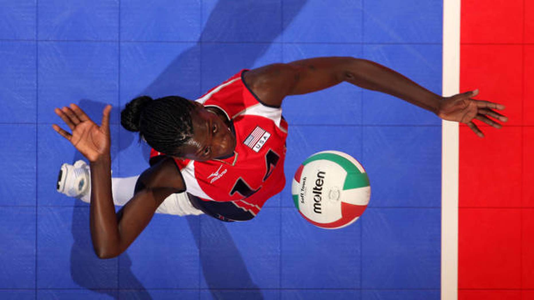 Former U.S. Olympic volleyball star Kim Willoughby is seen in a 2008 photo.