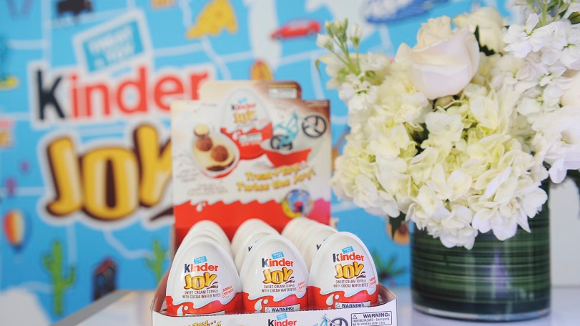 Kinder eggs will be sold in the U.S. for the first time.