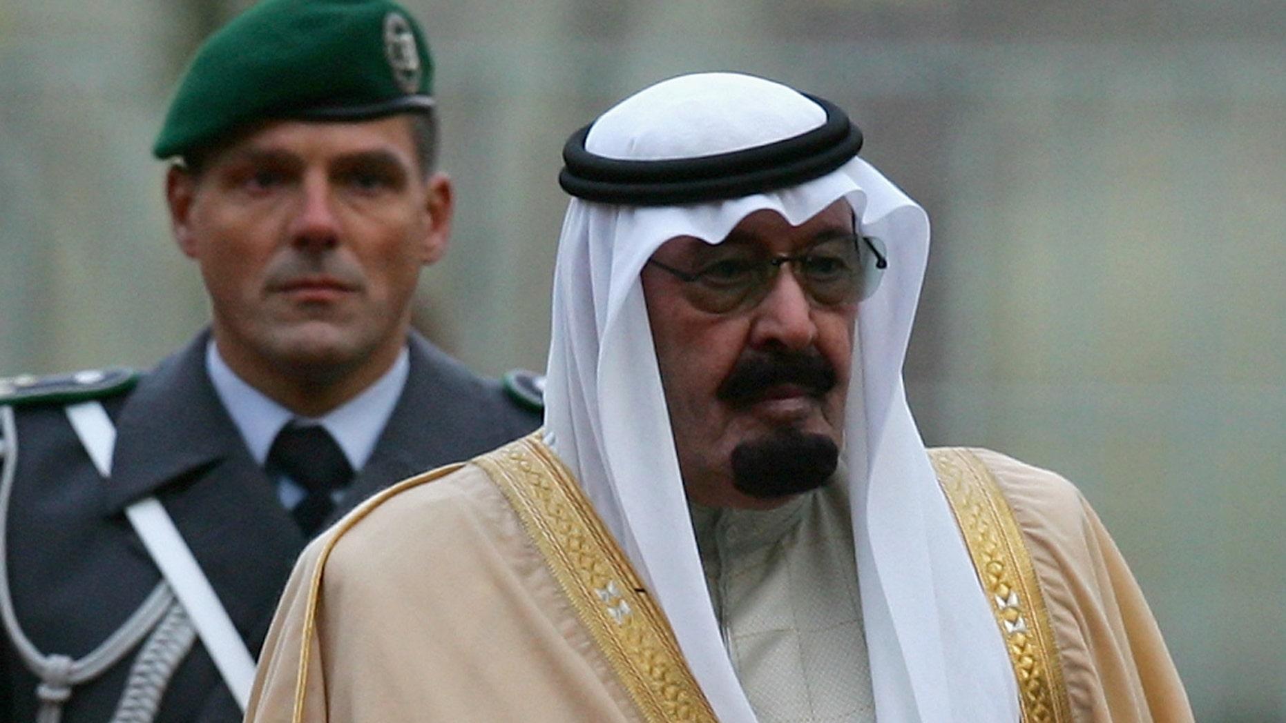 King Abdullah of Saudi Arabia (Photo by Andreas Rentz/Getty Images)