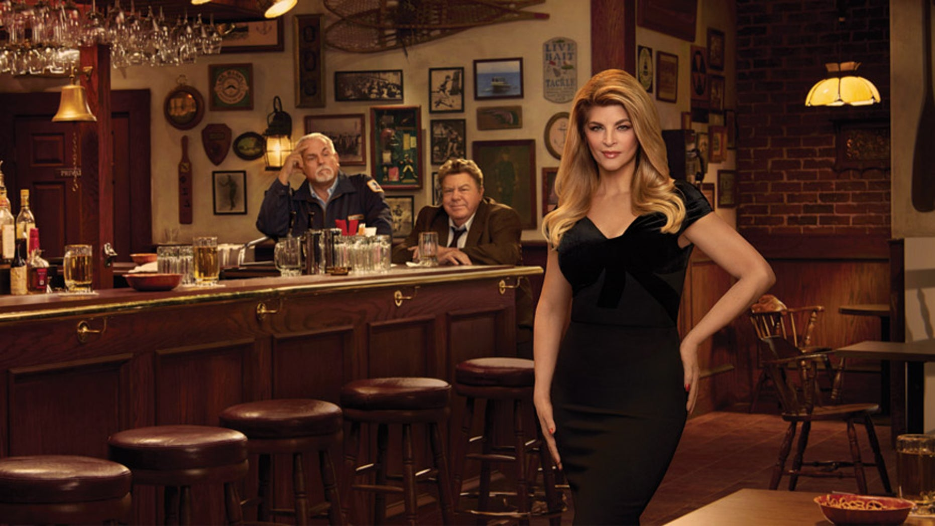 Naked kirstie alley hot really