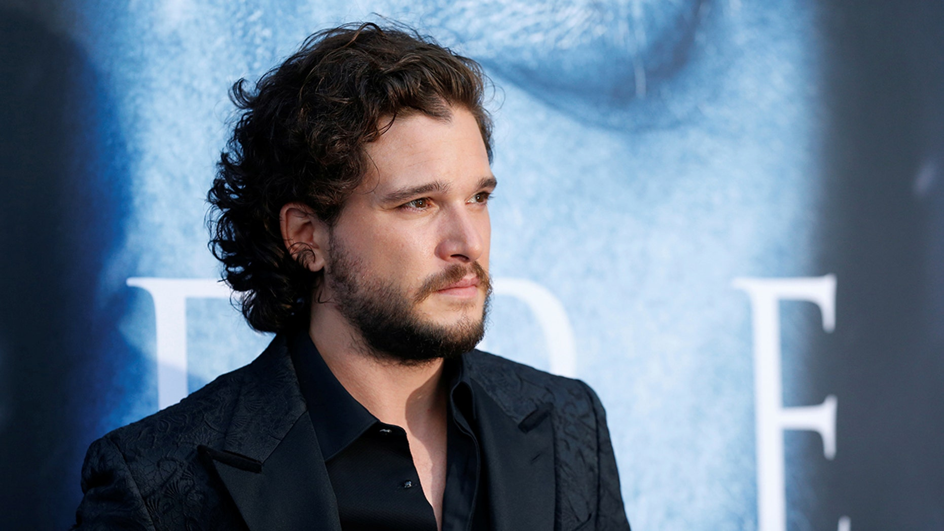 """Cast member Kit Harington poses at a premiere for season 7 of the television series """"Game of Thrones"""" in Los Angeles, California, U.S., July 12, 2017. REUTERS/Mario Anzuoni - RC173FE9F510"""