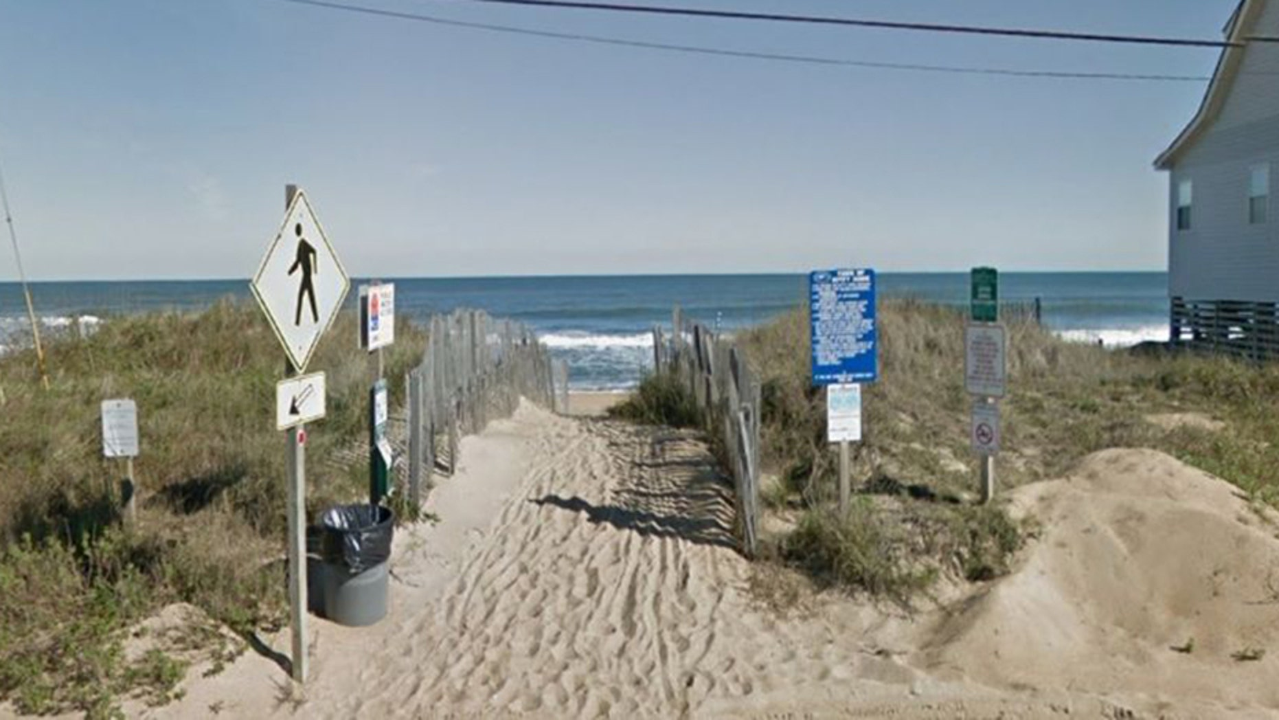 A 4-year-old boy was swept out to sea by a wave last week at a beach in Kitty Hawk, North Carolina.