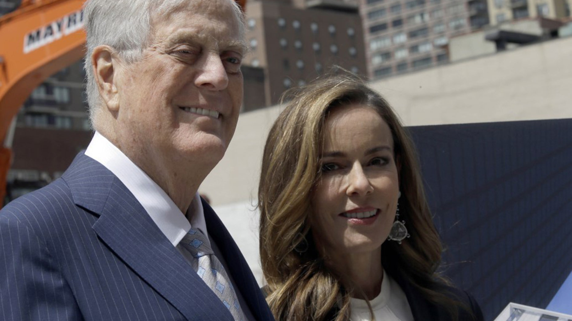 David and Julia Koch reportedly paid cash for a $40.25 million NYC mansion.