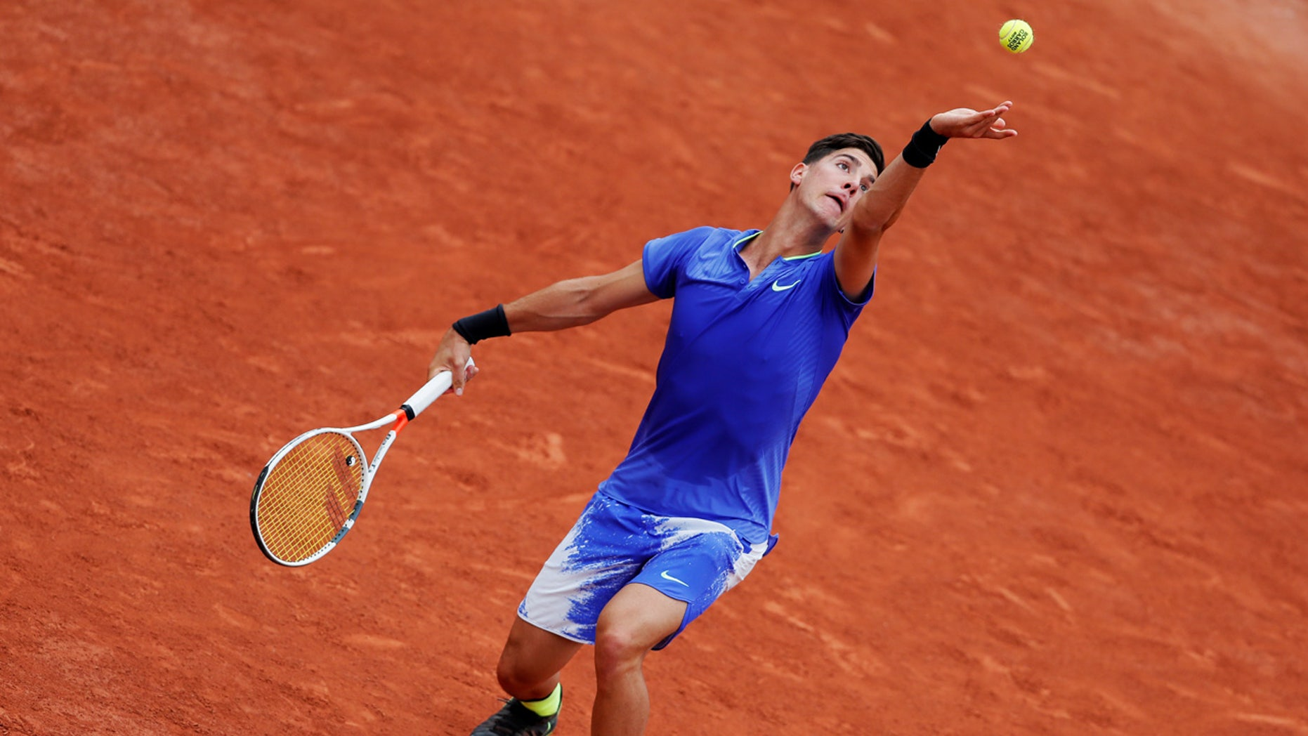 Kokkinakis' first round match in the French Open