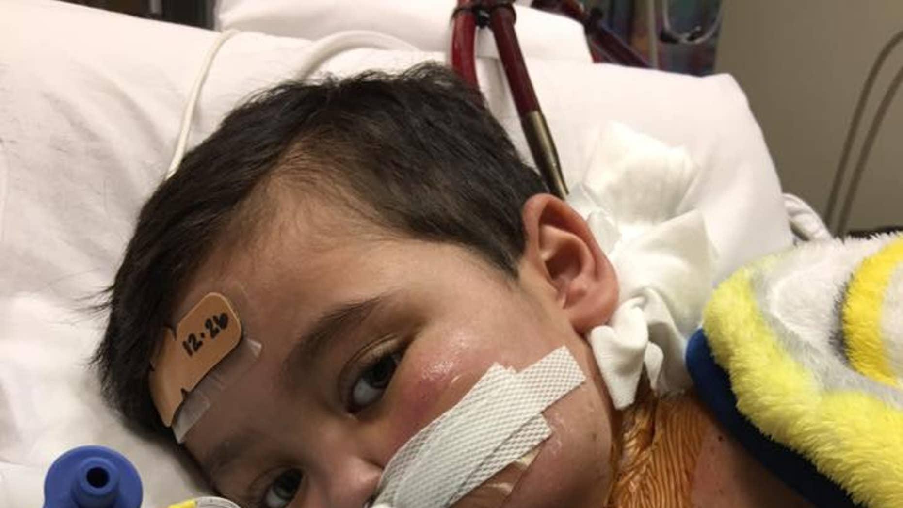Kolton Hessman is waiting for a heart transplant.