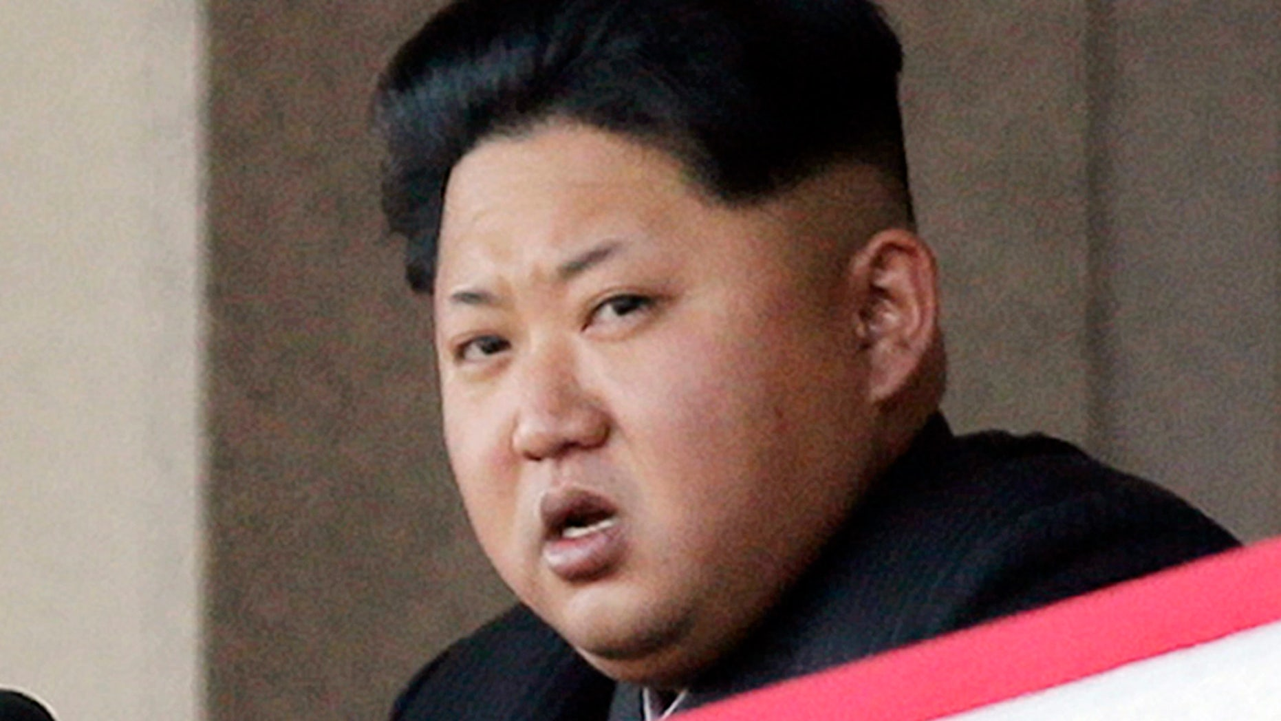 FILE - In this Oct. 10, 2015, file photo, North Korean leader Kim Jong Un delivers remarks at a military parade in Pyongyang, North Korea. Kim has warned of impending tests of a nuclear warhead explosion and ballistic missiles capable of carrying atomic warheads, state media reported Tuesday, March 15, 2016, in an escalation of threats against Seoul and Washington. (AP Photo/Wong Maye-E, File)