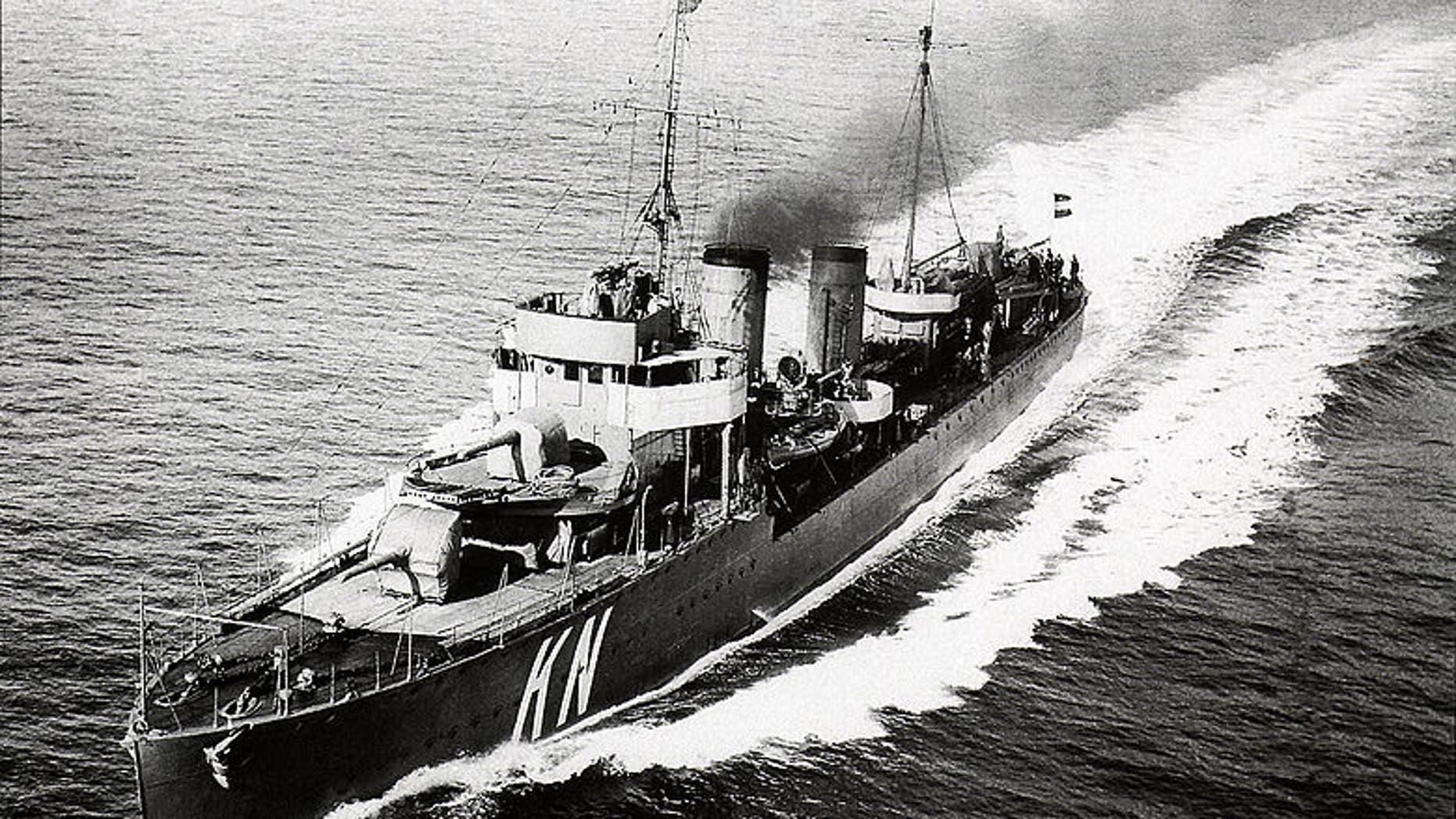 HNMLS Kortenaer (Royal Netherlands Navy).