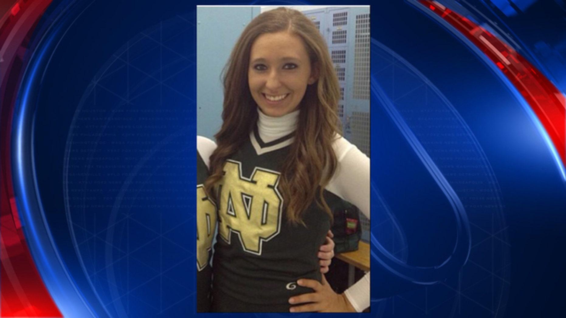 Fox 2 Detroit reported that the meningitis patient is Kristy Malter, 21.