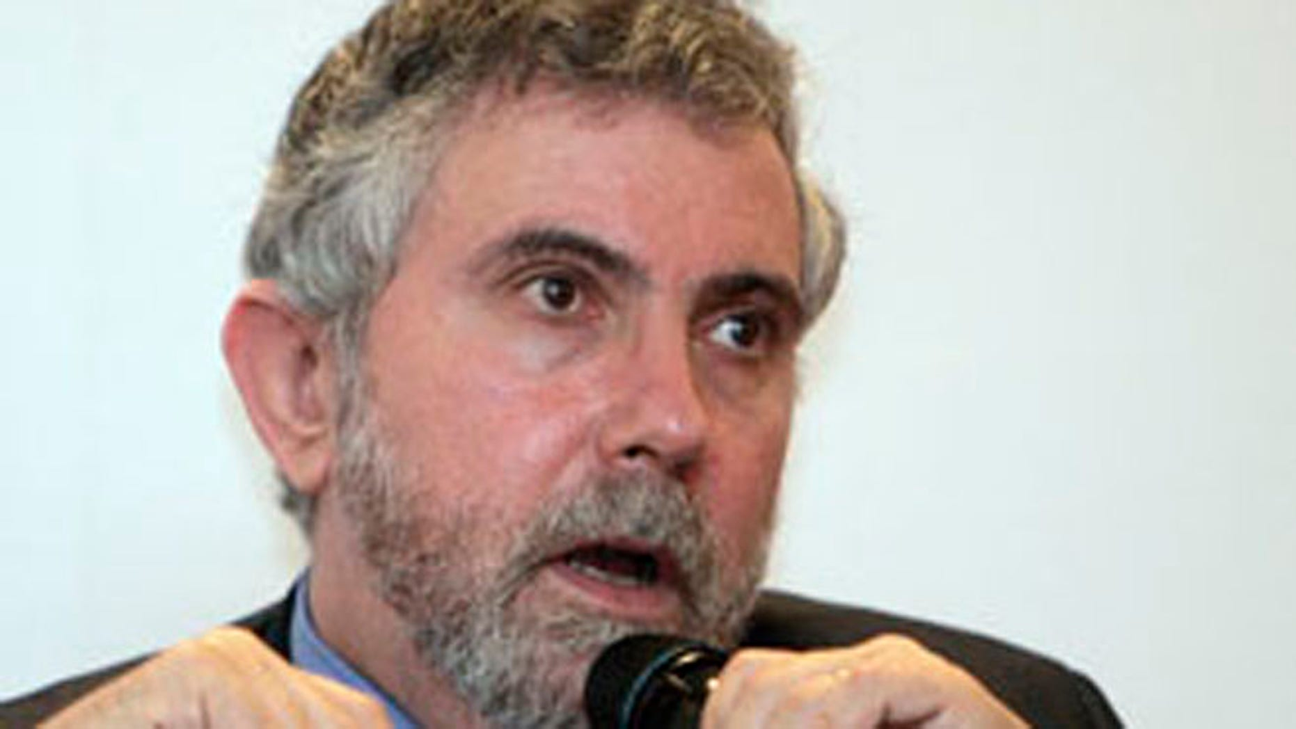 Aug. 10, 2009: Paul Krugman speaks during a press conference in Kuala Lumpur, Malaysia.