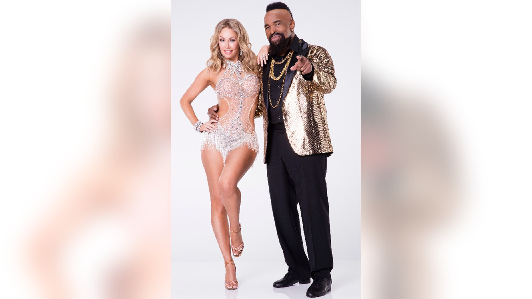 """Mr. T and his """"Dancing with the Stars"""" partner Kym Johnson-Herjavec."""