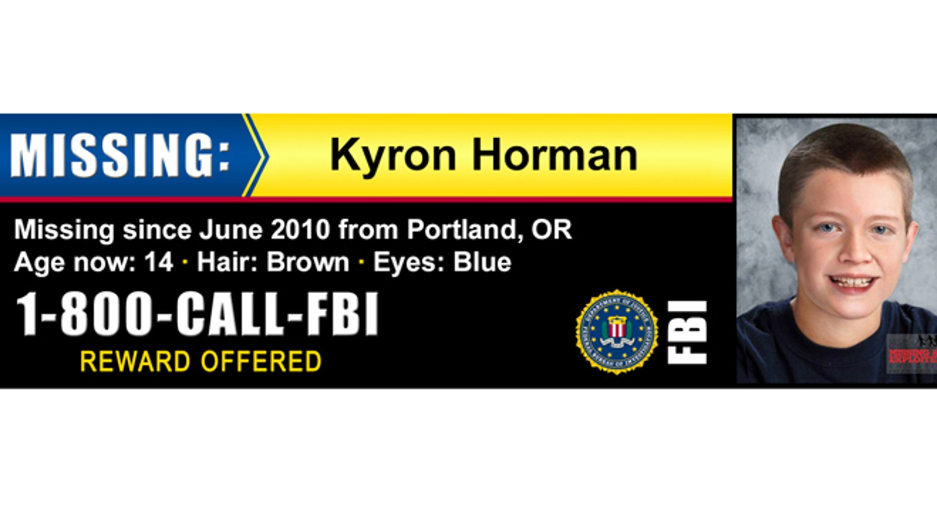 Billboards drawing attention to Kyron Horman missing persons case are running in five Oregon cities.