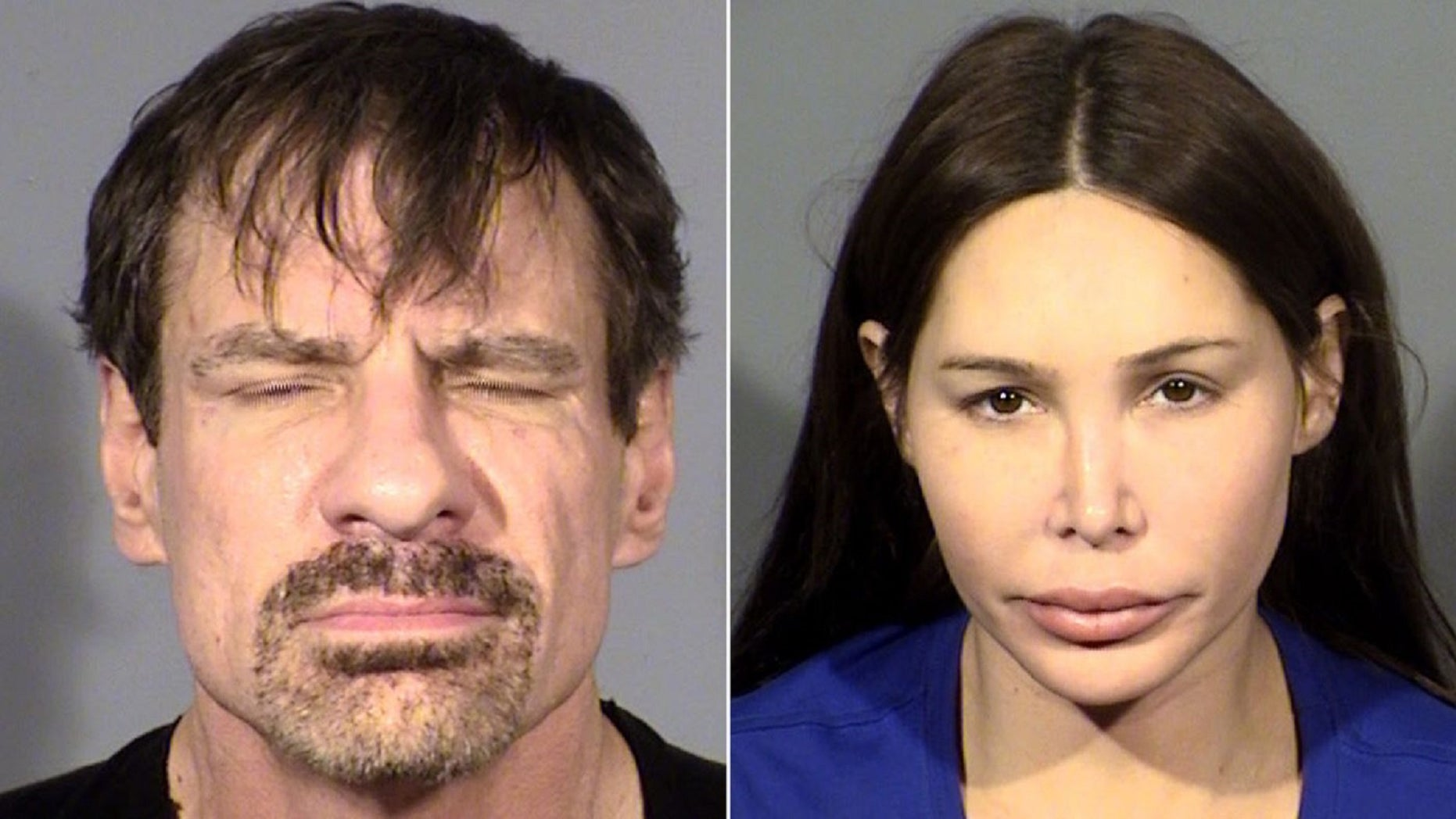 Henry T. Nicholas and Ashley Fargo were arrested Tuesday in a Las Vegas hotel room on suspicion of drug trafficking, court records show.