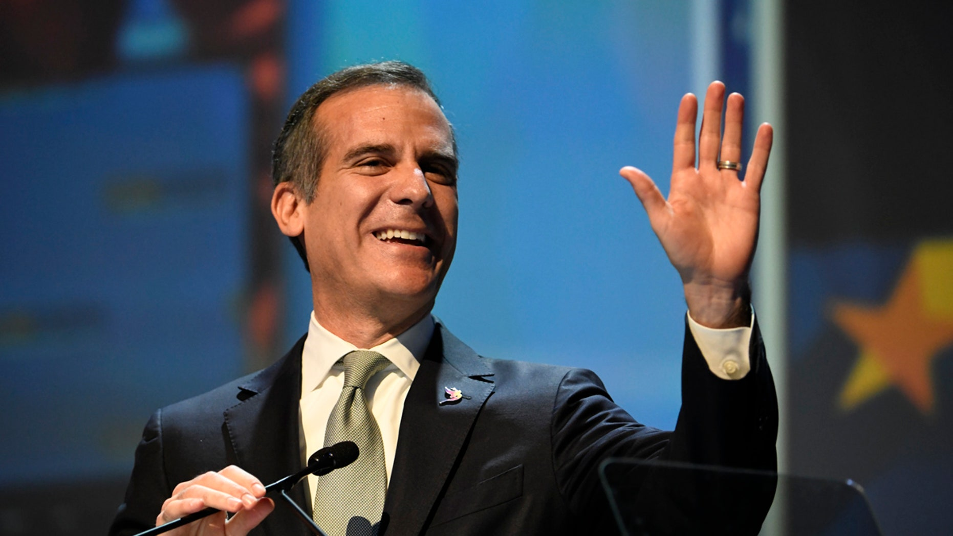 Los Angeles Mayor Eric Garcetti returned Ed Buck's donation in November of last year.