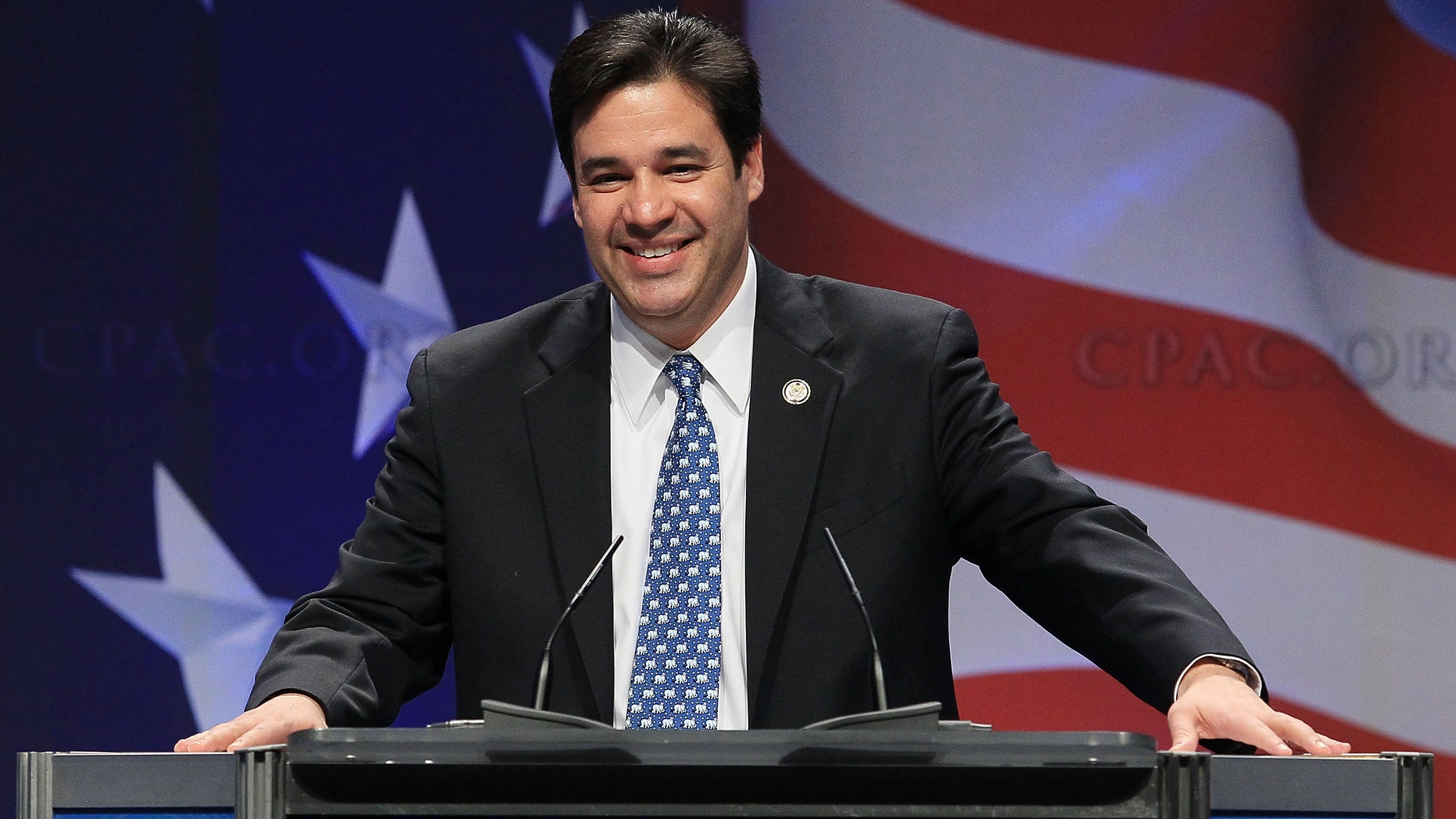 Rep. Raul Labrador at the Conservative Political Action conference on February 10, 2011 in Washington, DC.