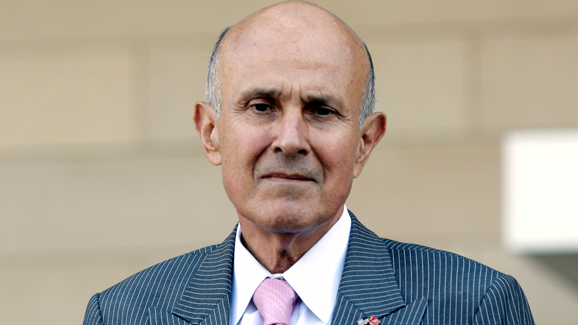Former Los Angeles County Sheriff Lee Baca leaves federal court in Los Angeles Monday