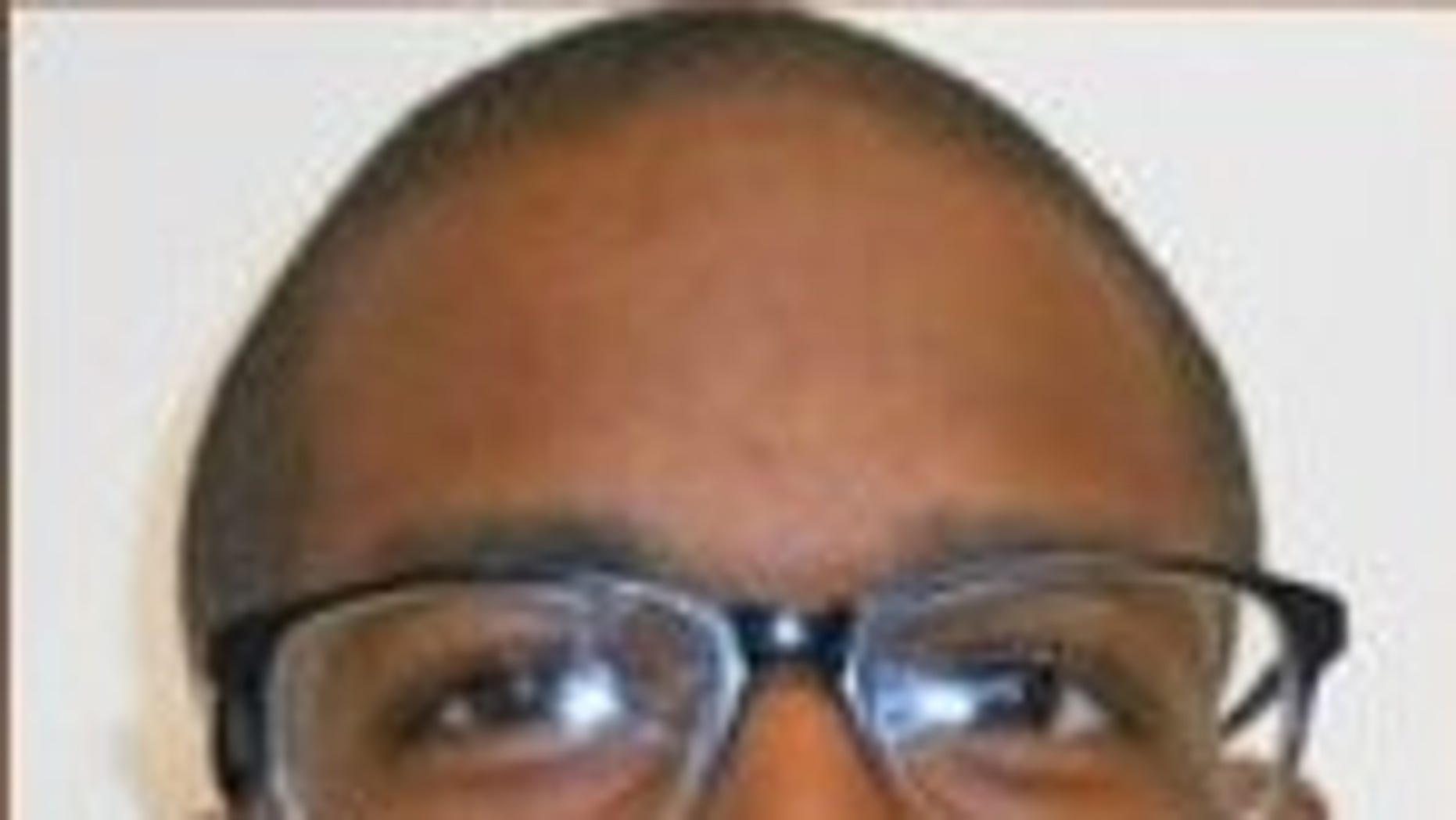 Ladarius Blue, 26, was arrested Monday during the total solar eclipse, investigators said. (Iowa Sex Offender Registry)