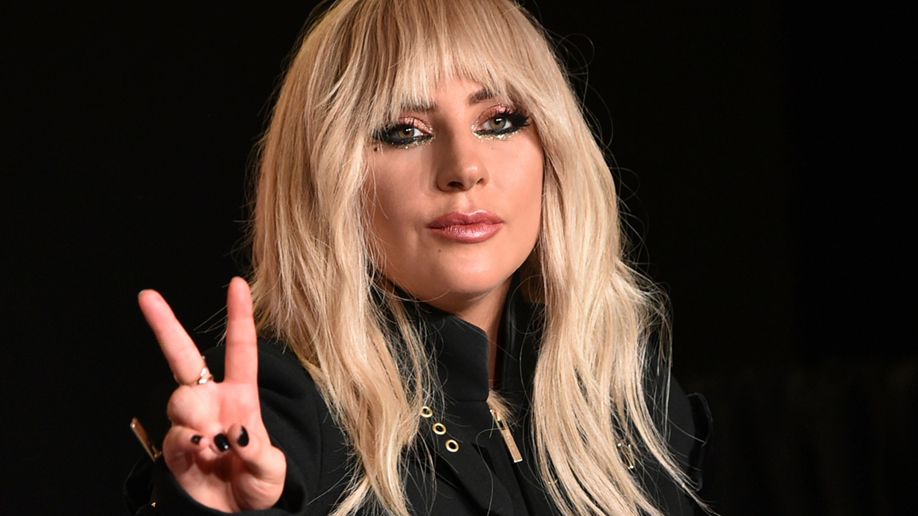 """Lady Gaga attends a press conference for """"Gaga: Five Foot Two"""" on day 2 of the Toronto International Film Festival at the TIFF Bell Lightbox on Friday, Sept. 8, 2017, in Toronto."""