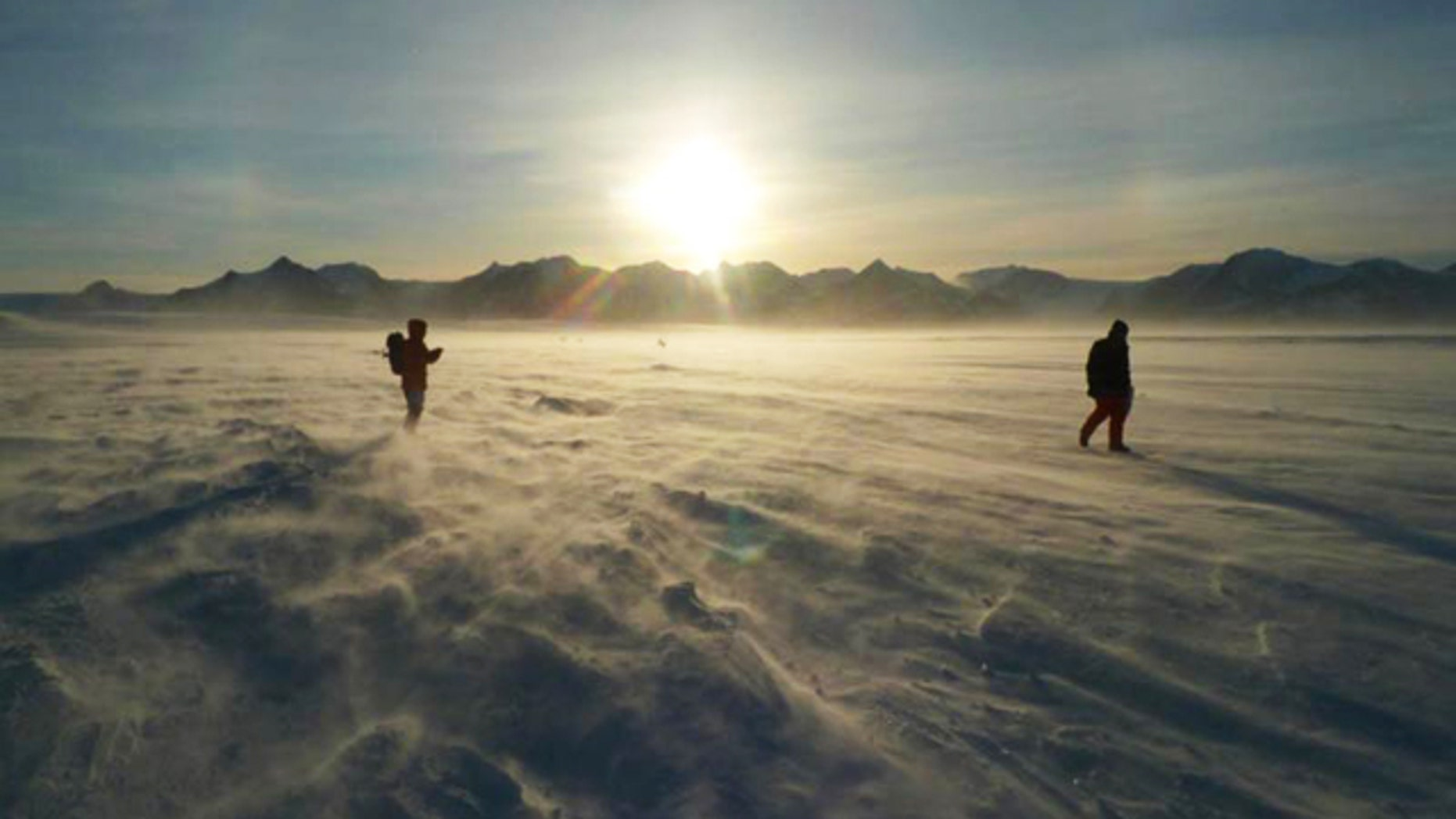 Hey, where's the lake? Lake Ellsworth is hidden beneath nearly 2 miles of ice in Western Antarctica.