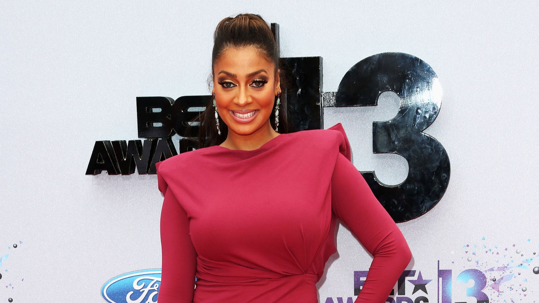 La La Anthony attends the 2013 BET Awards at Nokia Theatre L.A. Live on June 30, 2013 in Los Angeles, California.  (Photo by Frederick M. Brown/Getty Images for BET)