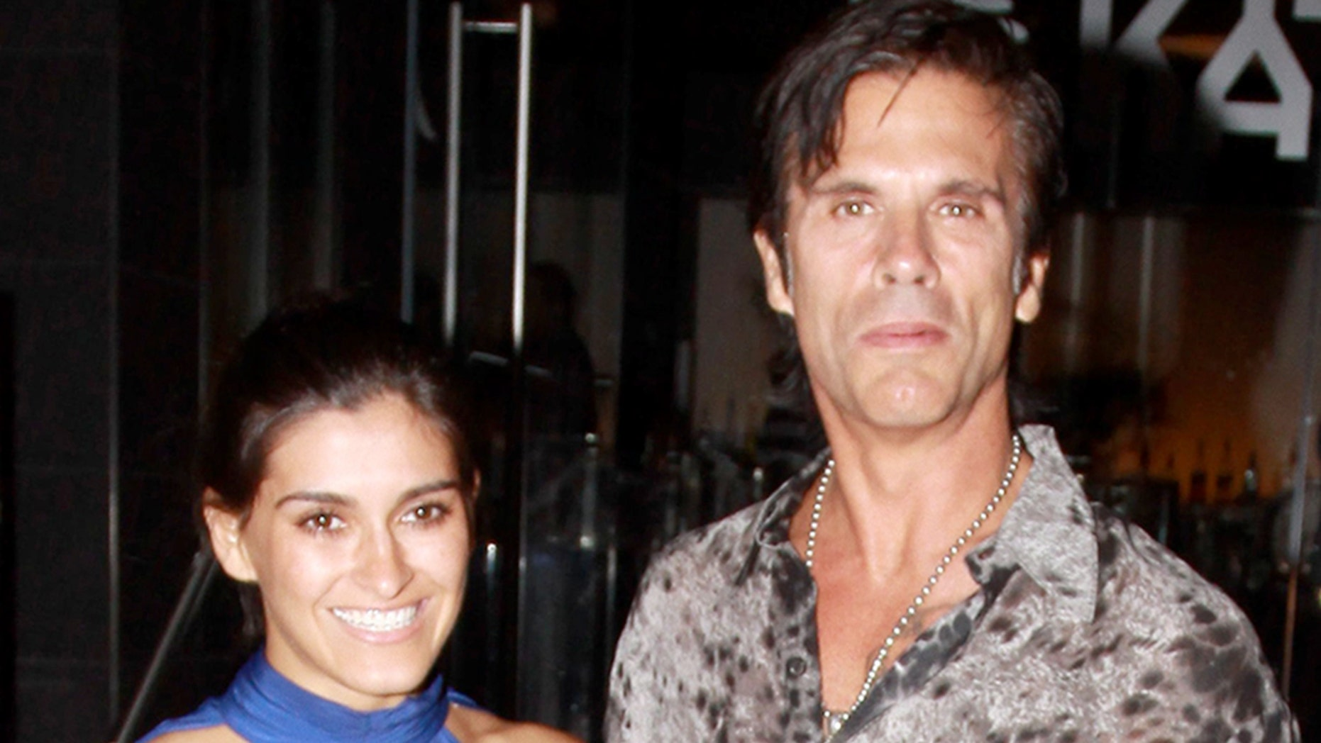 """Falcon Crest"" star Lorenzo Lamas filed for divorce from fifth wife Shawna Craig on June 29. The former couple is pictured here in November 2010."
