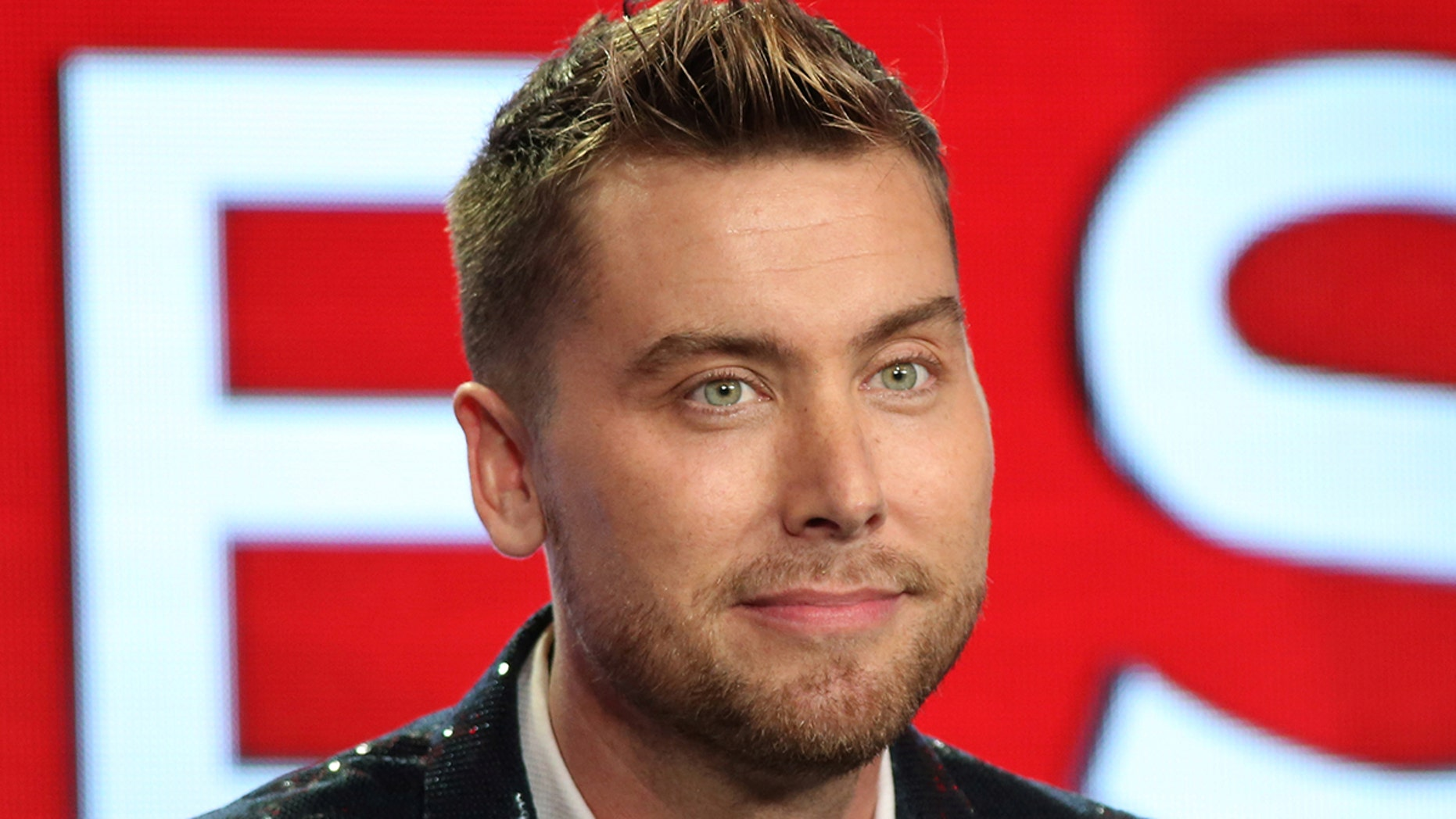 """Lance Bass speaks about the Fox television show """"My Kitchen Rules"""" during the TCA presentations in Pasadena, California, U.S., January 11, 2017. REUTERS/Lucy Nicholson - RC1E92FBF150"""