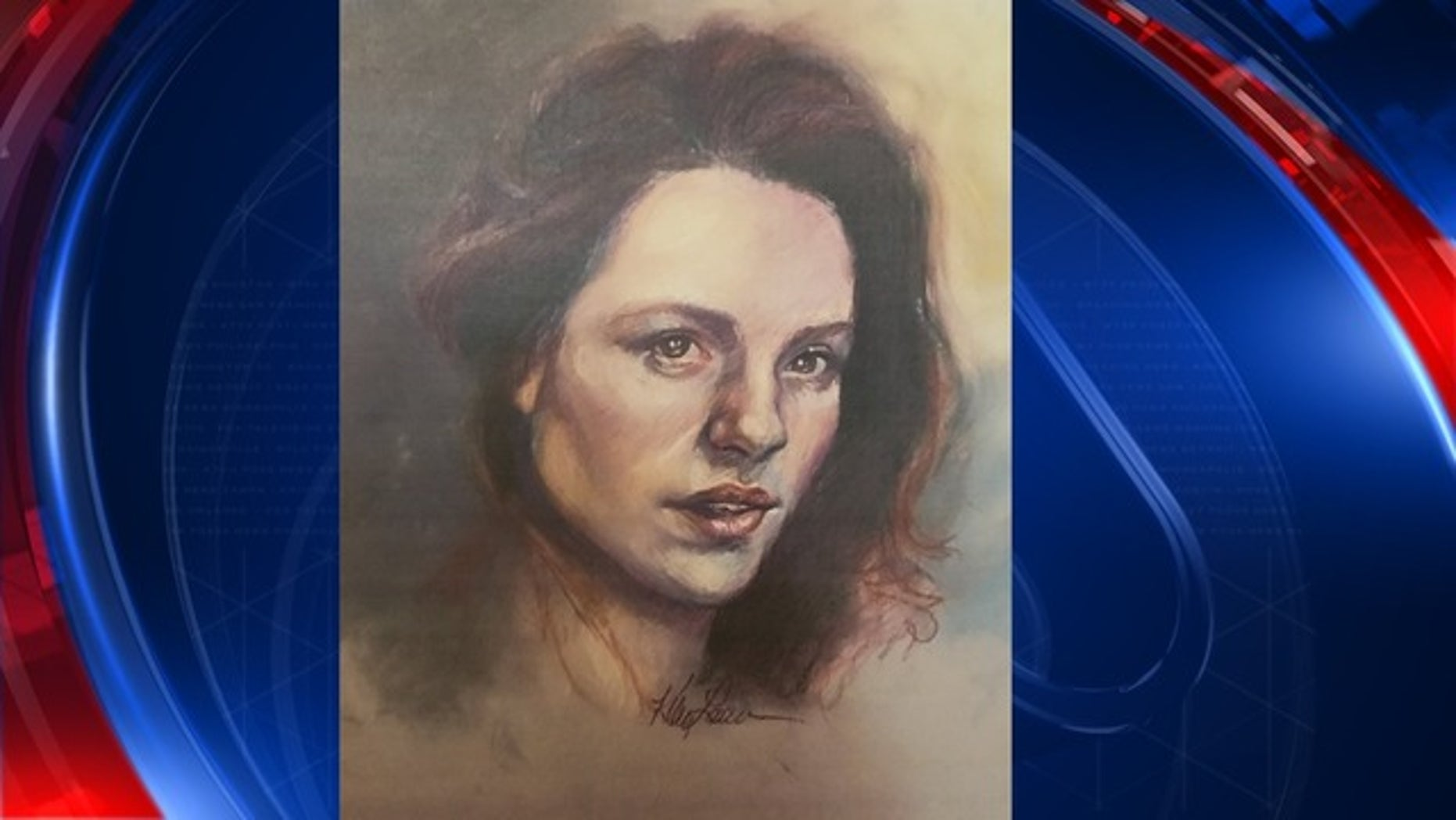 This sketch by the Georgia Bureau of Investigation shows the victim whose remains were found in a landfill this week.