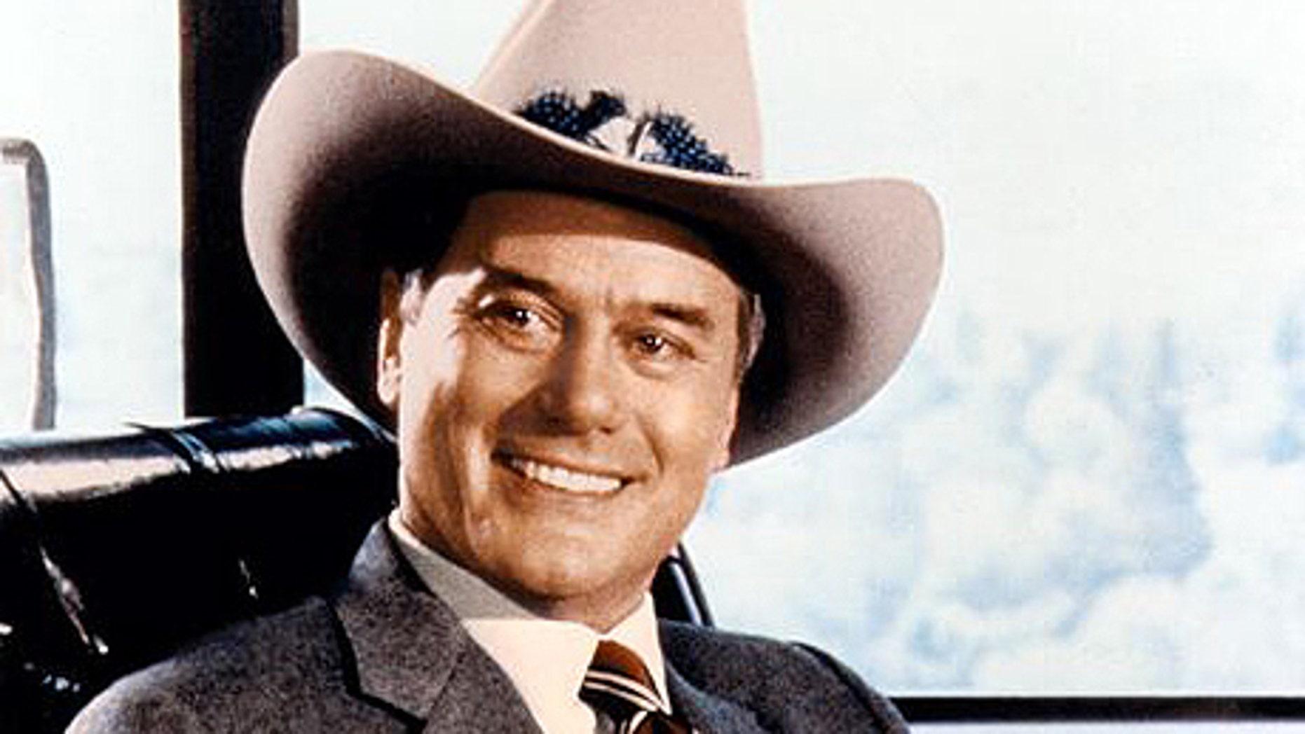 Larry Hagman on 'Dallas.' (ABC)